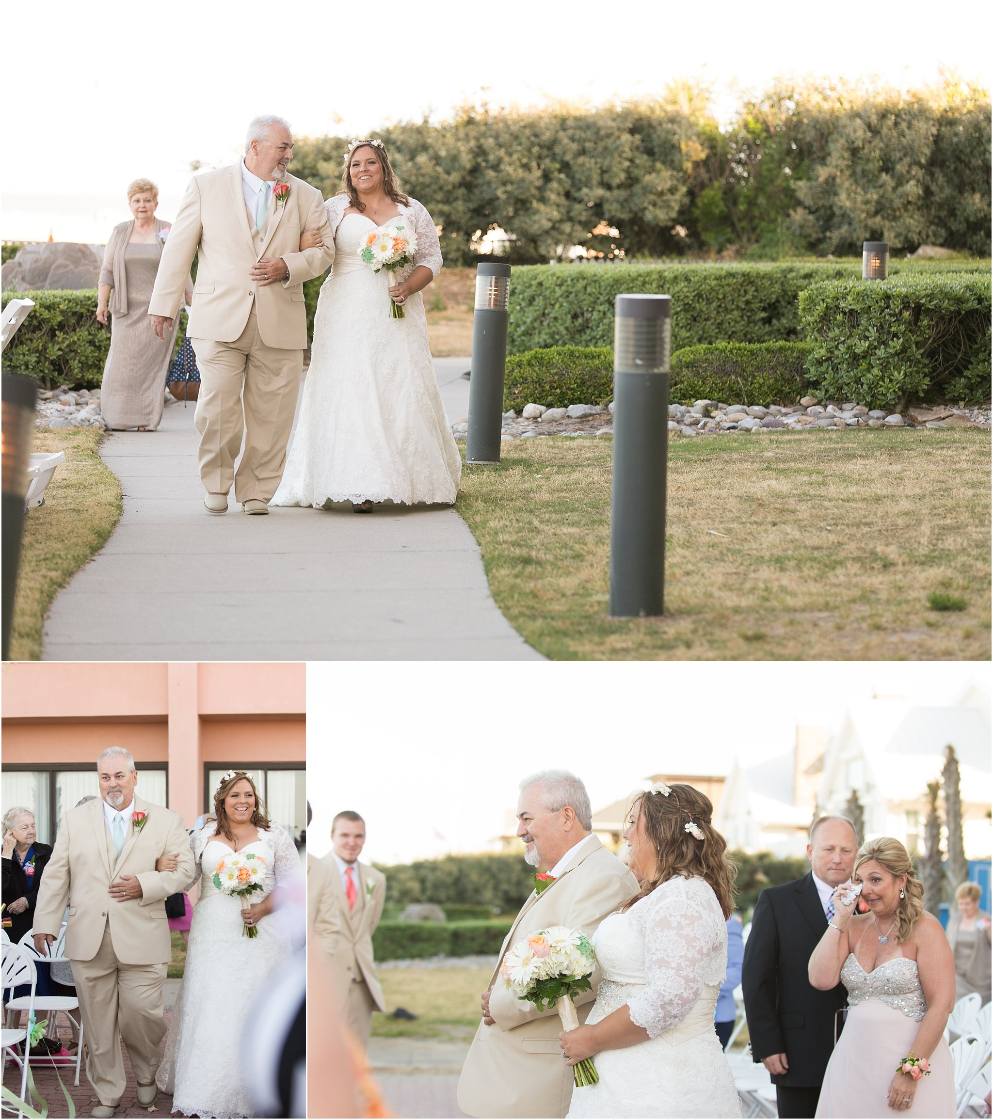 Virginia Beach Wedding Venues: The Wyndham Virginia Beach Oceanfront Wedding: Ashley