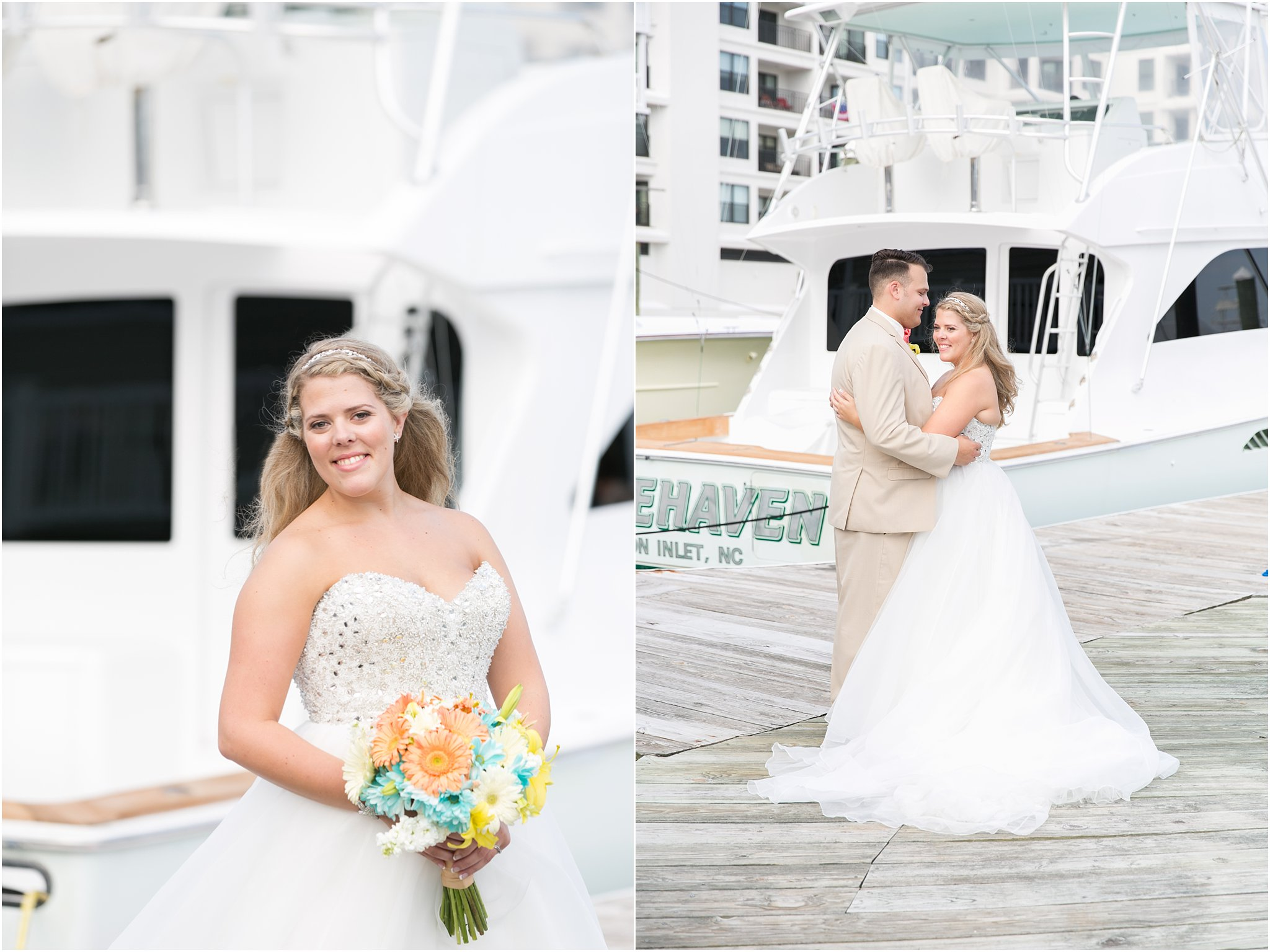 photography virginia beach water tabe wedding vera wang wedding dress