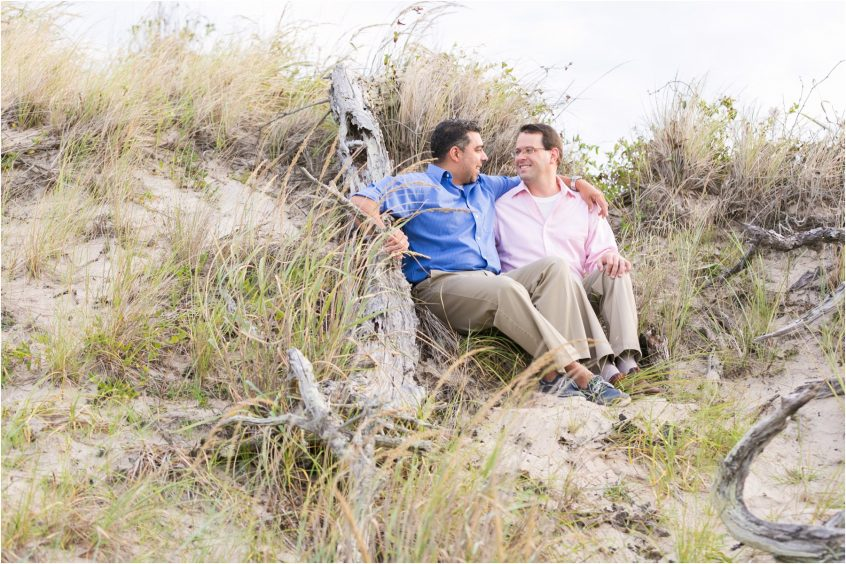 back bay wildlife refuge virginia beach sandbridge engagement portrait