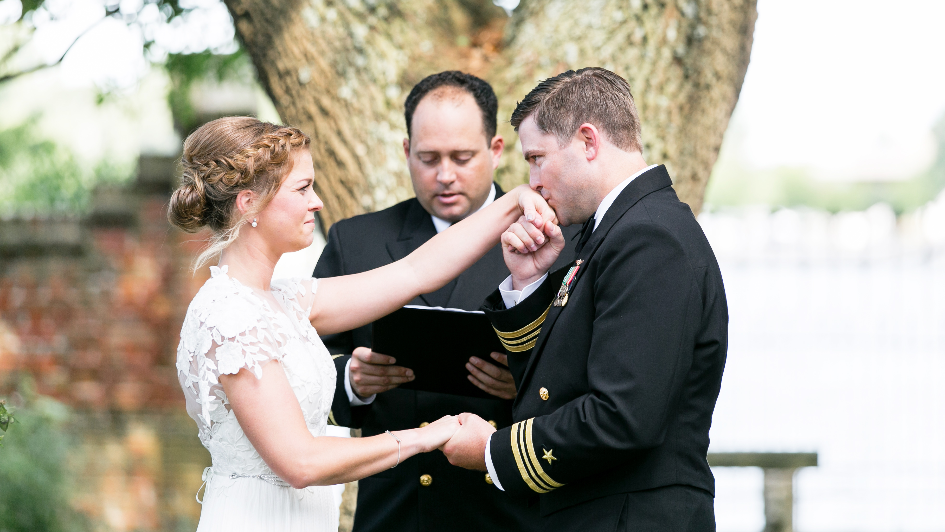 hermitage museum and gardens wedding ceremony norfolk virginia
