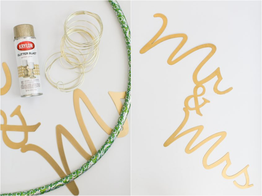 diy wedding decor tutorial mr and mrs sign