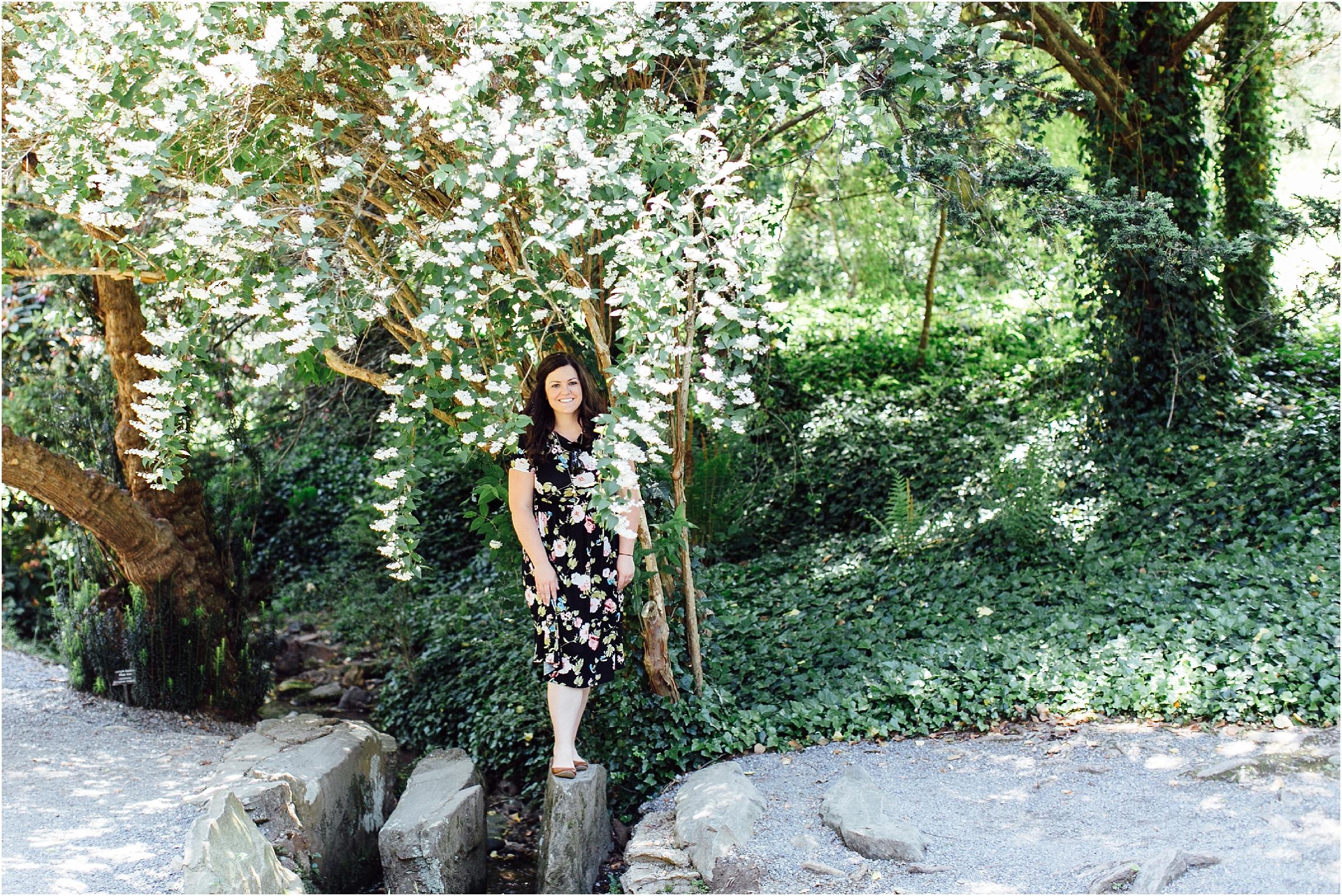 the Biltmore in Asheville North Carolina wedding garden