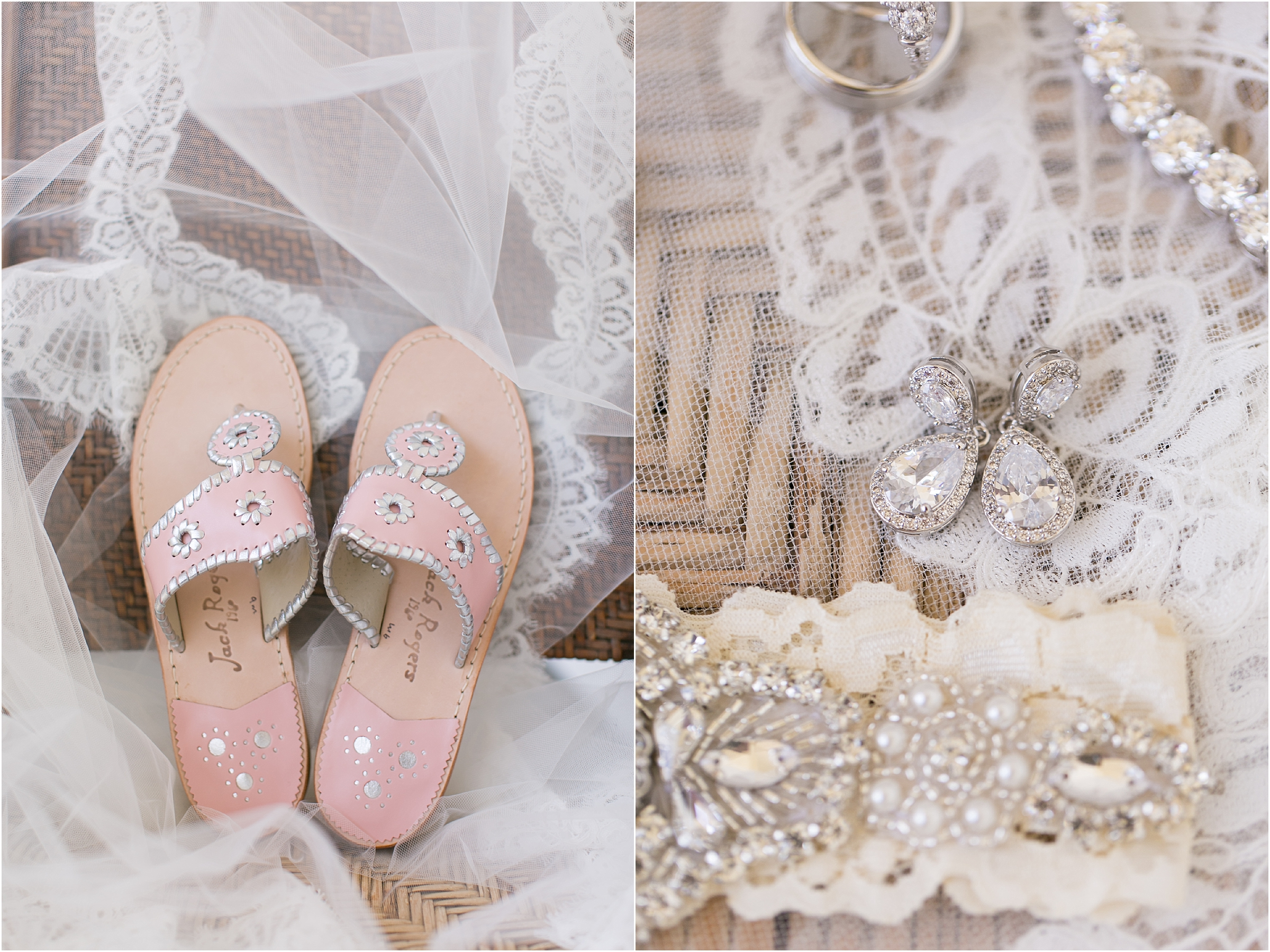 inn at warner hall wedding bridal details