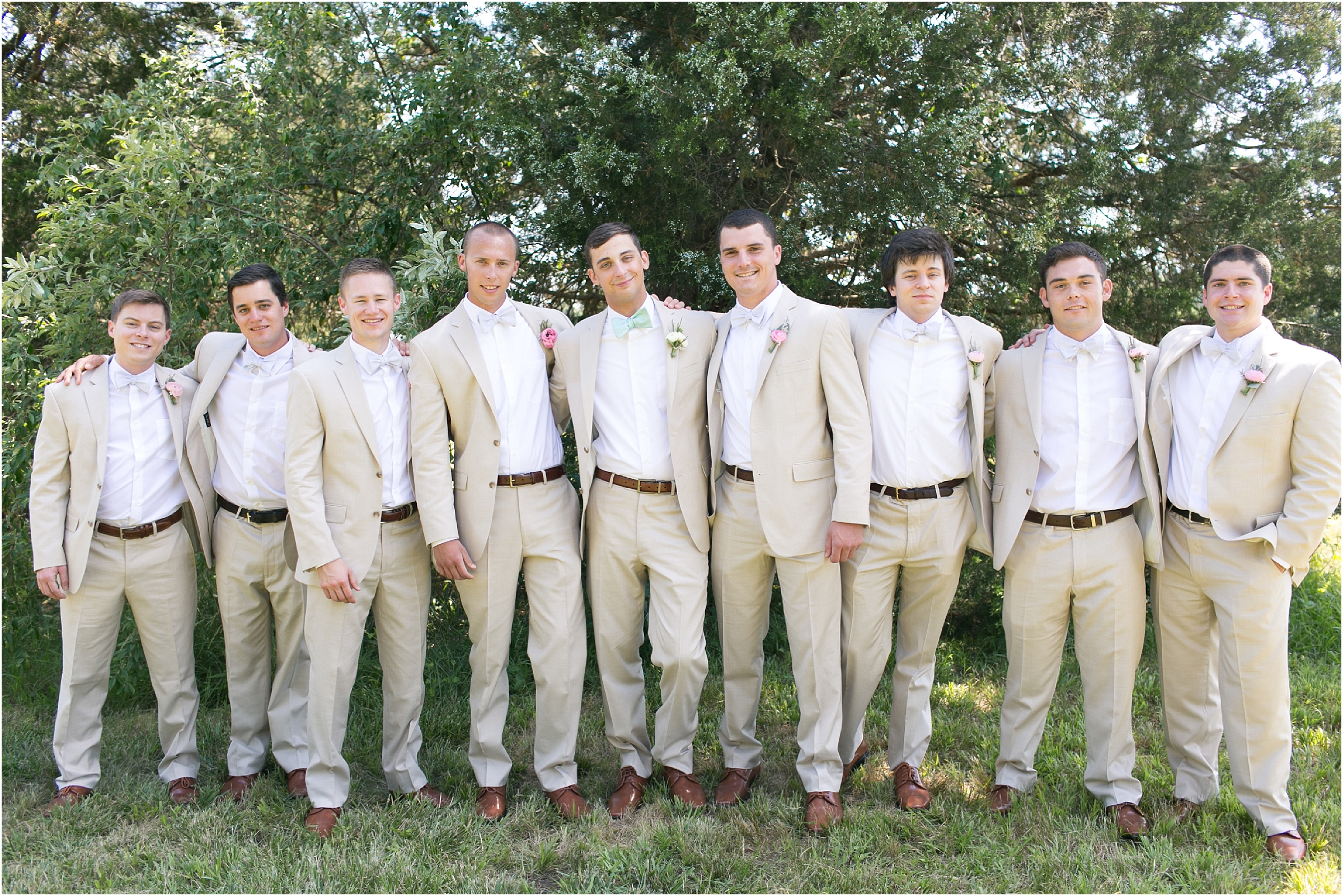 inn at warner hall wedding groomsmen