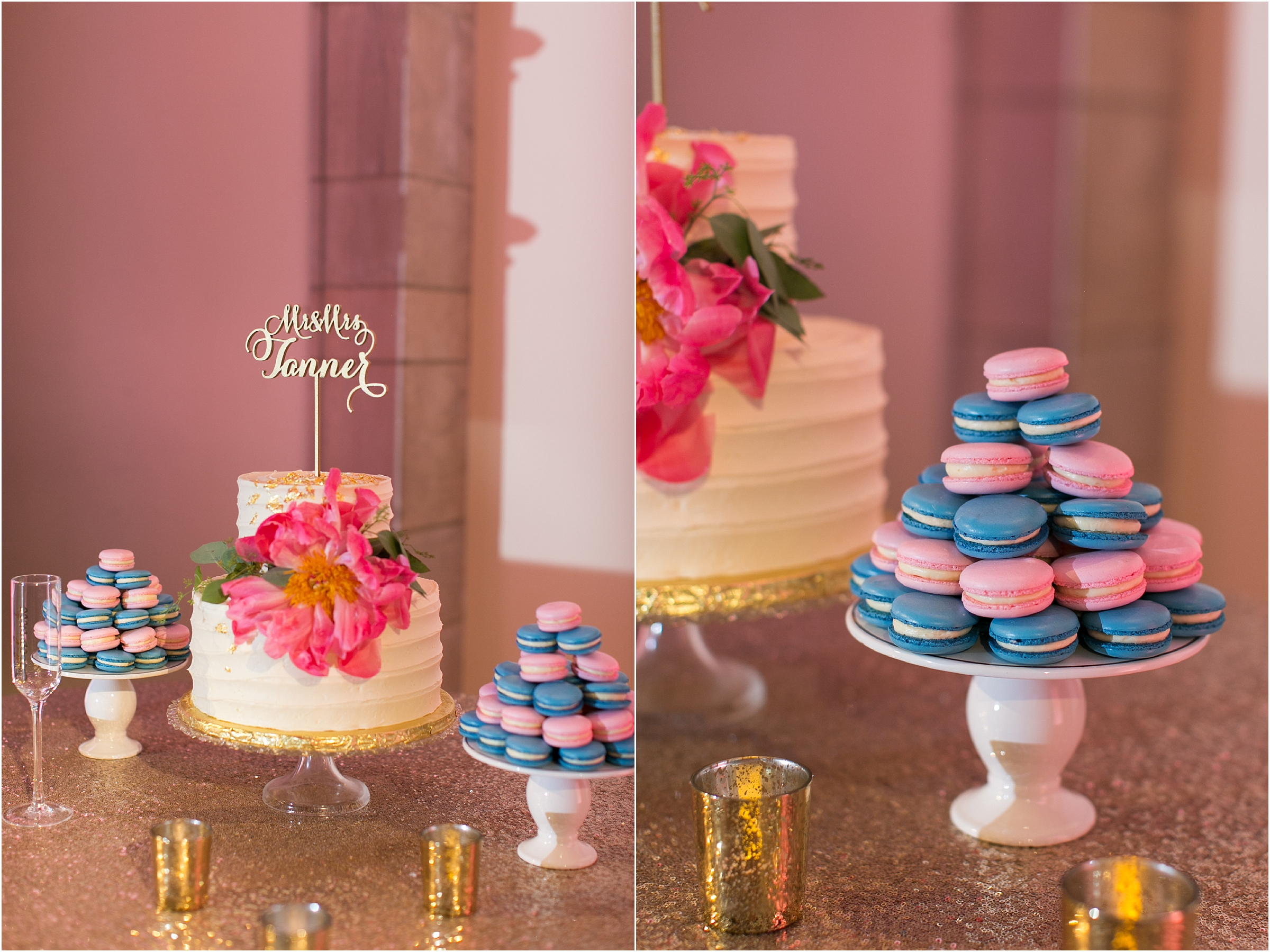 Chrysler Museum of Art elegant wedding reception jessica ryan photography courtney inghram events hummingbird macarons