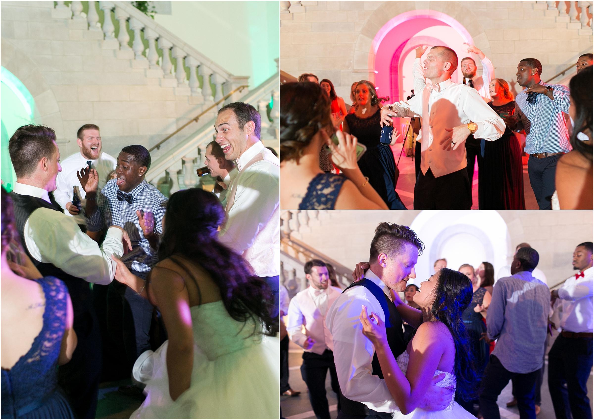 Chrysler Museum of Art elegant wedding reception