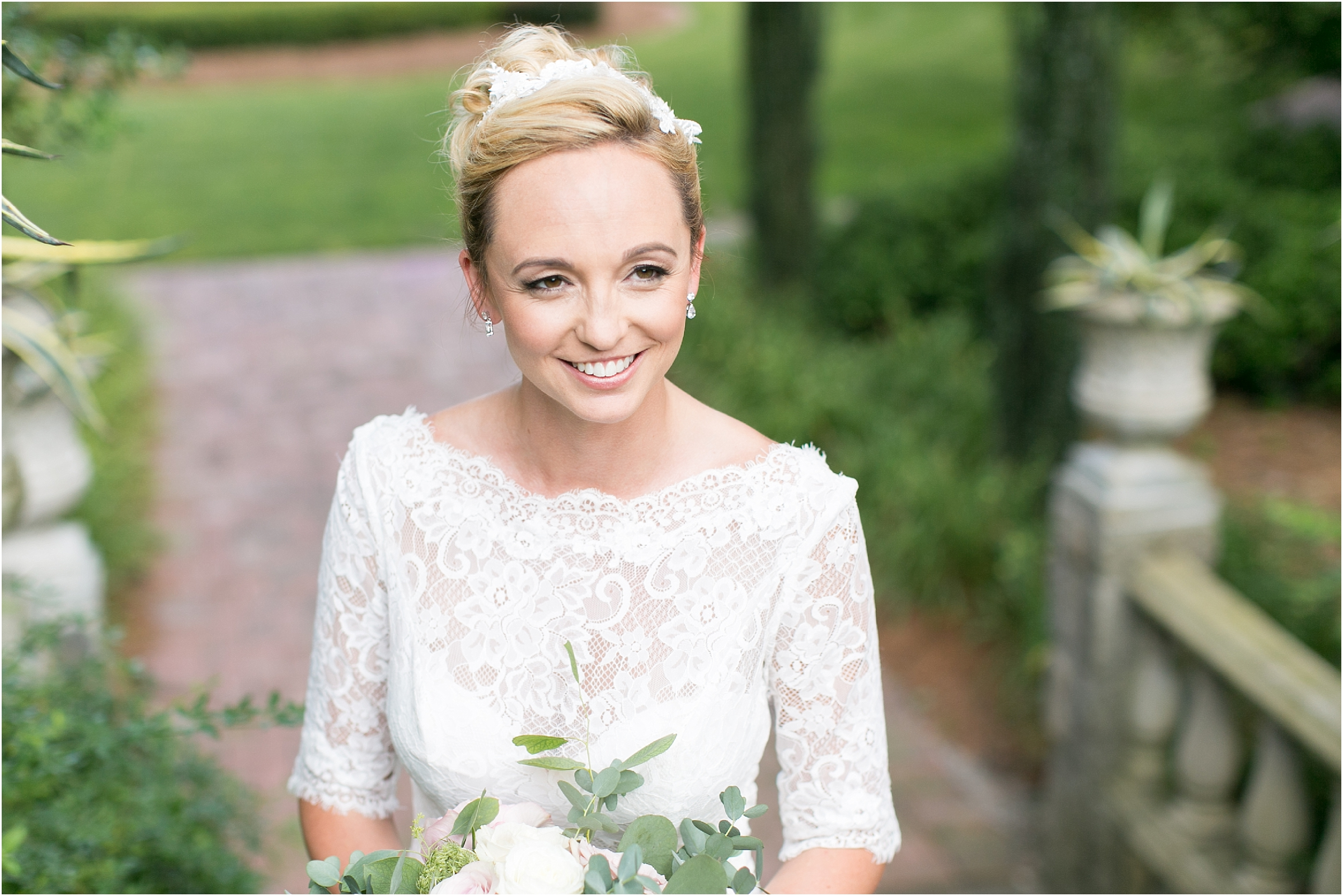 botanical gardens wedding photography norfolk virginia