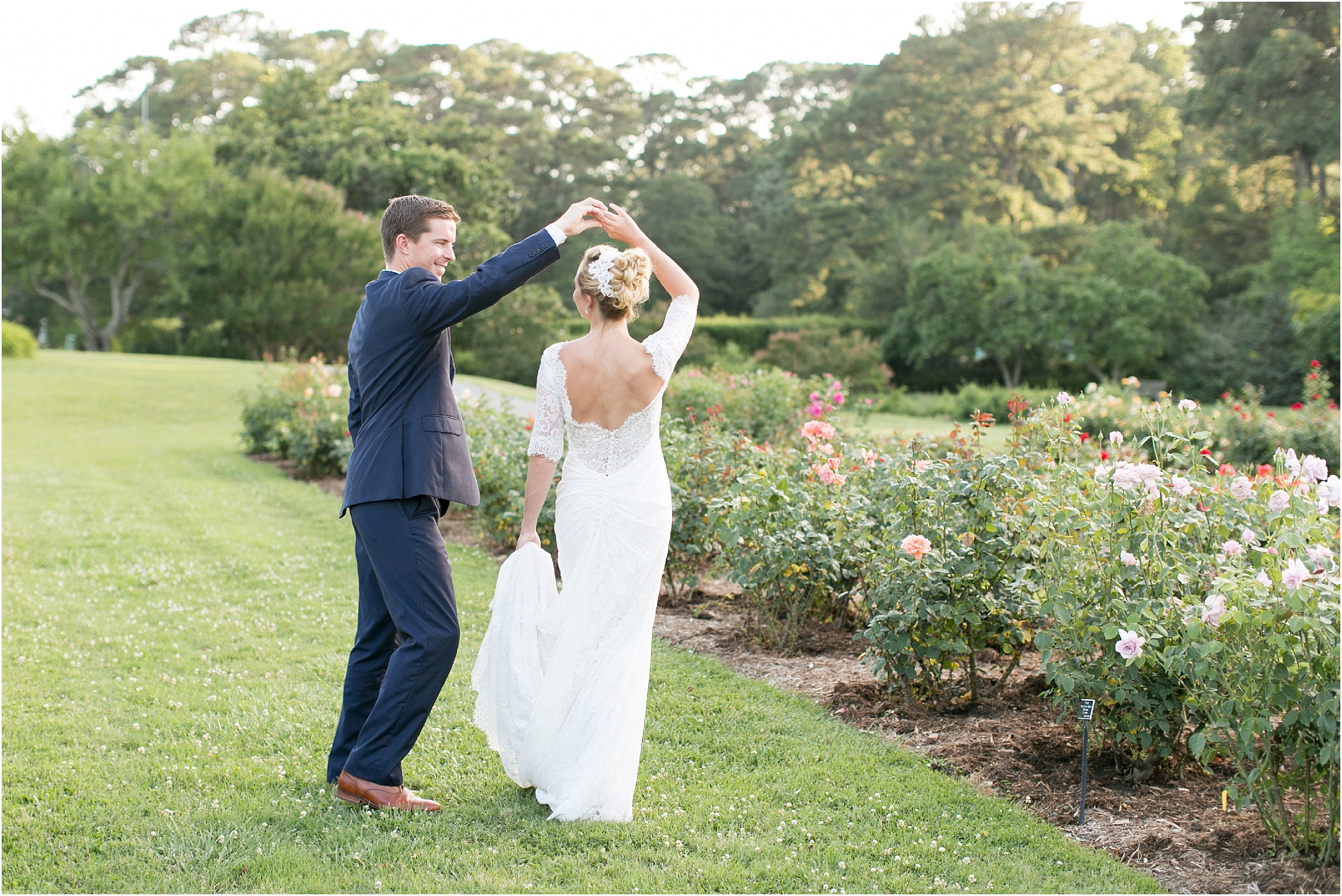 botanical gardens wedding photography norfolk virginia rose garden wedding jessica ryan photography