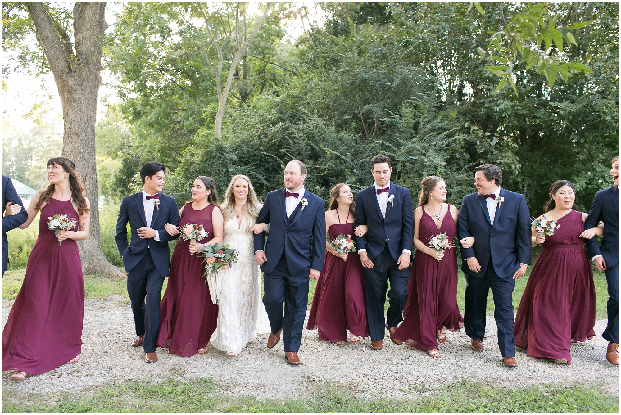 boho bridal party photography on wedding day boho wedding at The Tar Roof virginia beach wedding photography jessica ryan photography