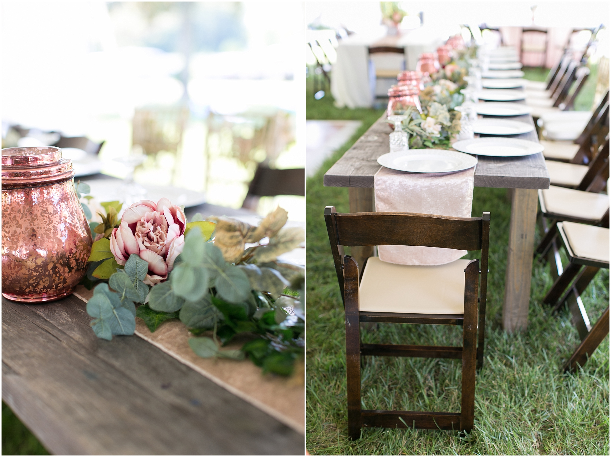 boho wedding at The Tar Roof virginia beach wedding photography boho bride and decorations jessica ryan photography