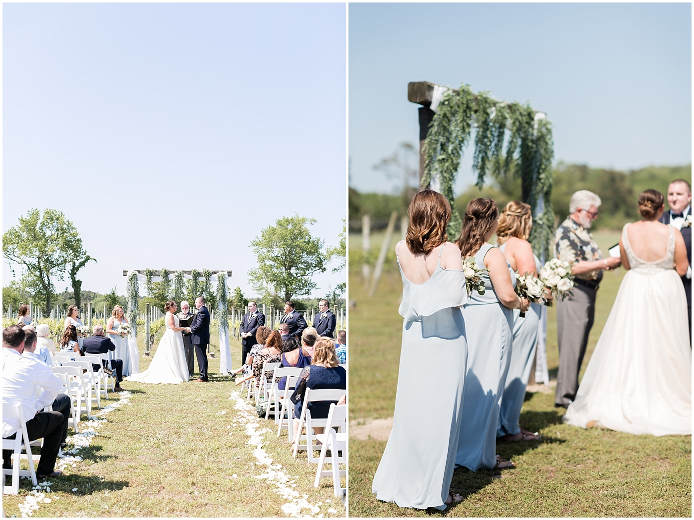 sanctuary vineyards wedding jessica ryan photography, winery wedding ceremony