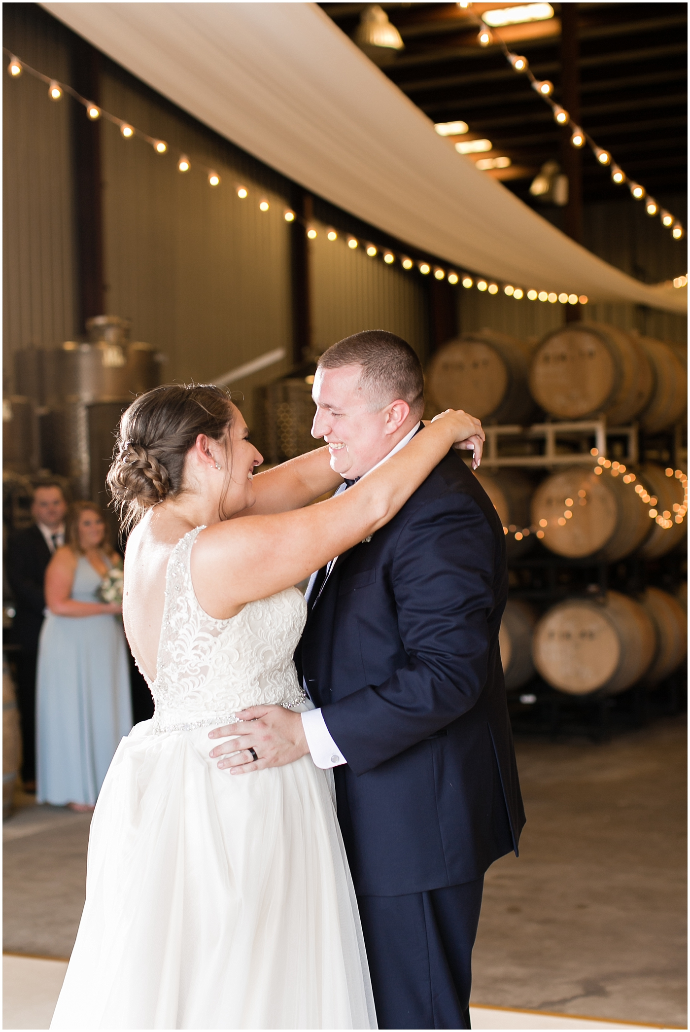 sanctuary vineyards wedding jessica ryan photography, winery wedding reception