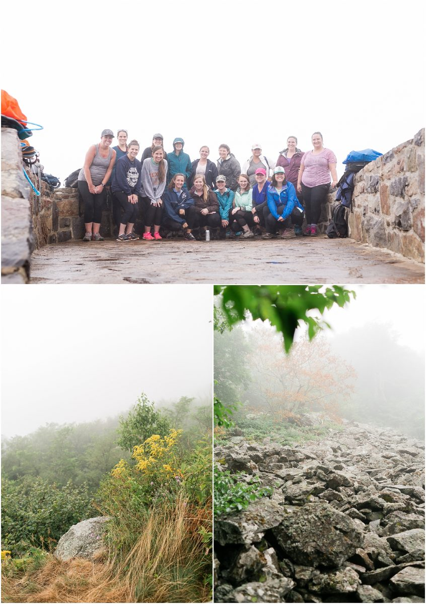 her hike collective, hawksbill mountain trail, hawksbill summit, Appalachian trail