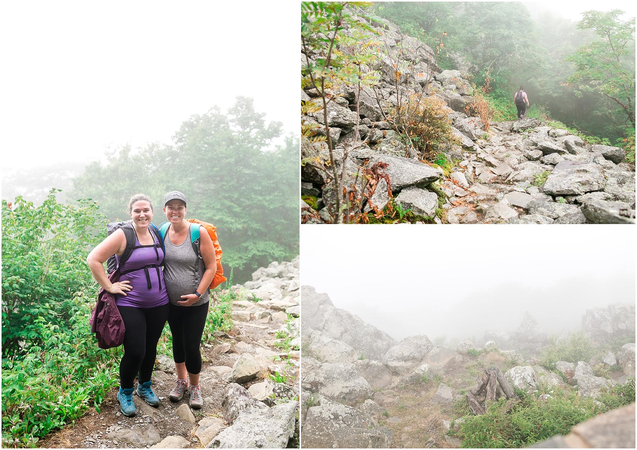 her hike collective, hawksbill mountain trail, hawksbill summit, Appalachian trail