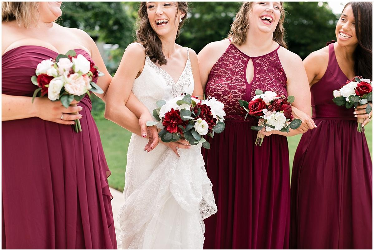 musuem of contemporary art wedding, MOCA wedding, virginia beach wedding bridal party