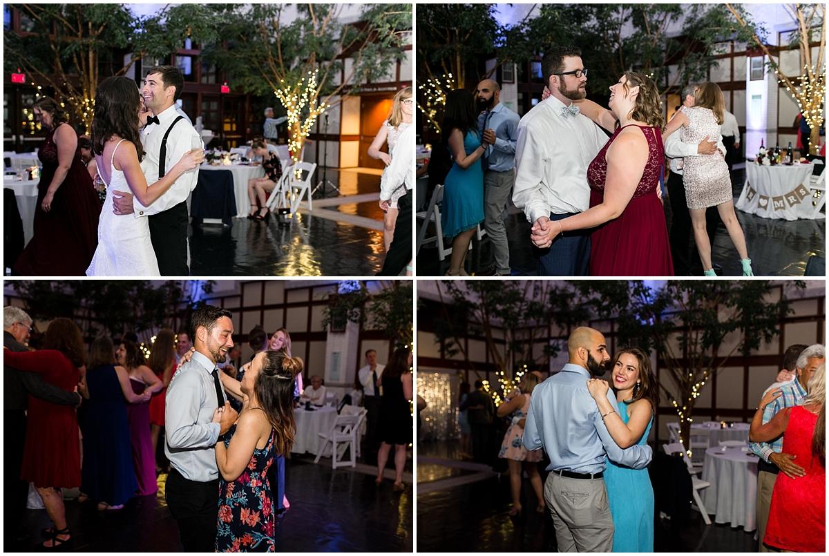 musuem of contemporary art wedding, MOCA wedding, virginia beach wedding reception