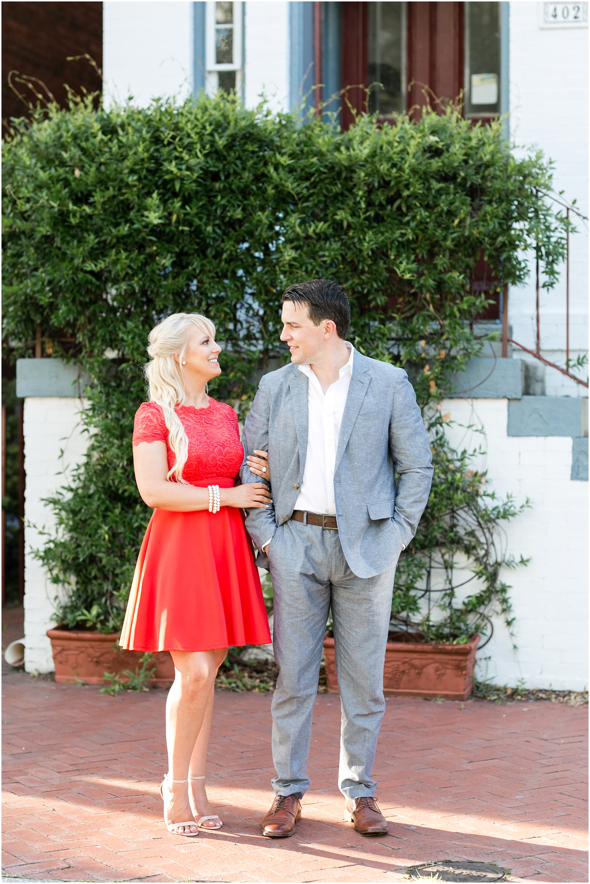 downtown norfolk engagement photography freemason historic district