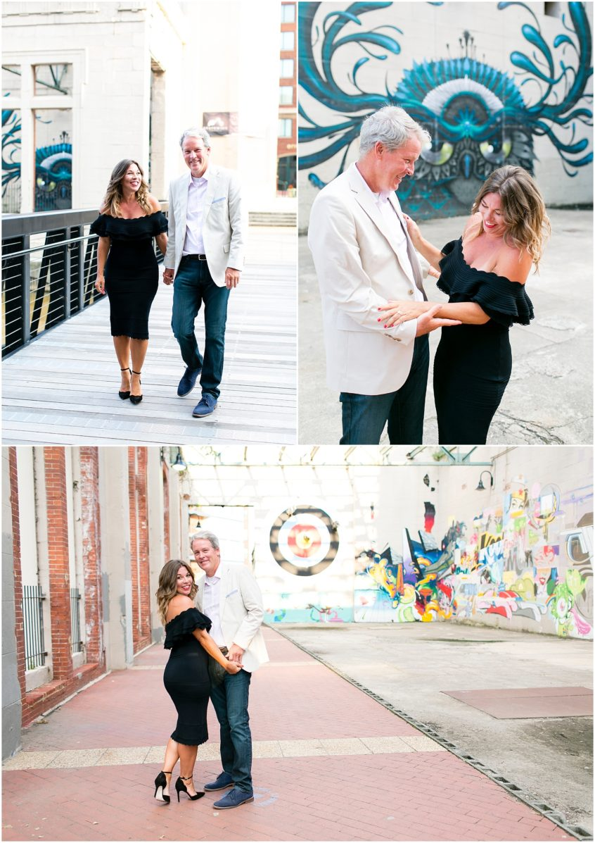 Richmond engagement photography riverside canal walk and libby hill park