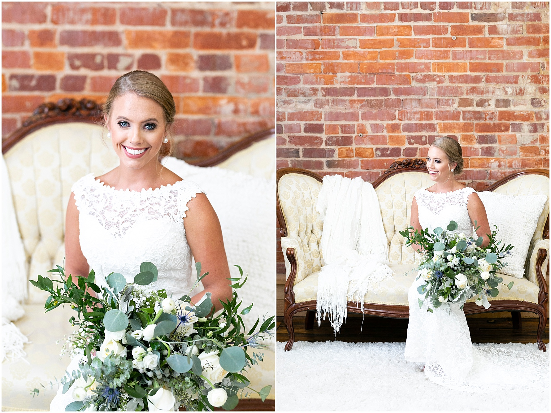 studio at wharf hill bridal portrait, Jessica Ryan photography, classic bride, southern bride,