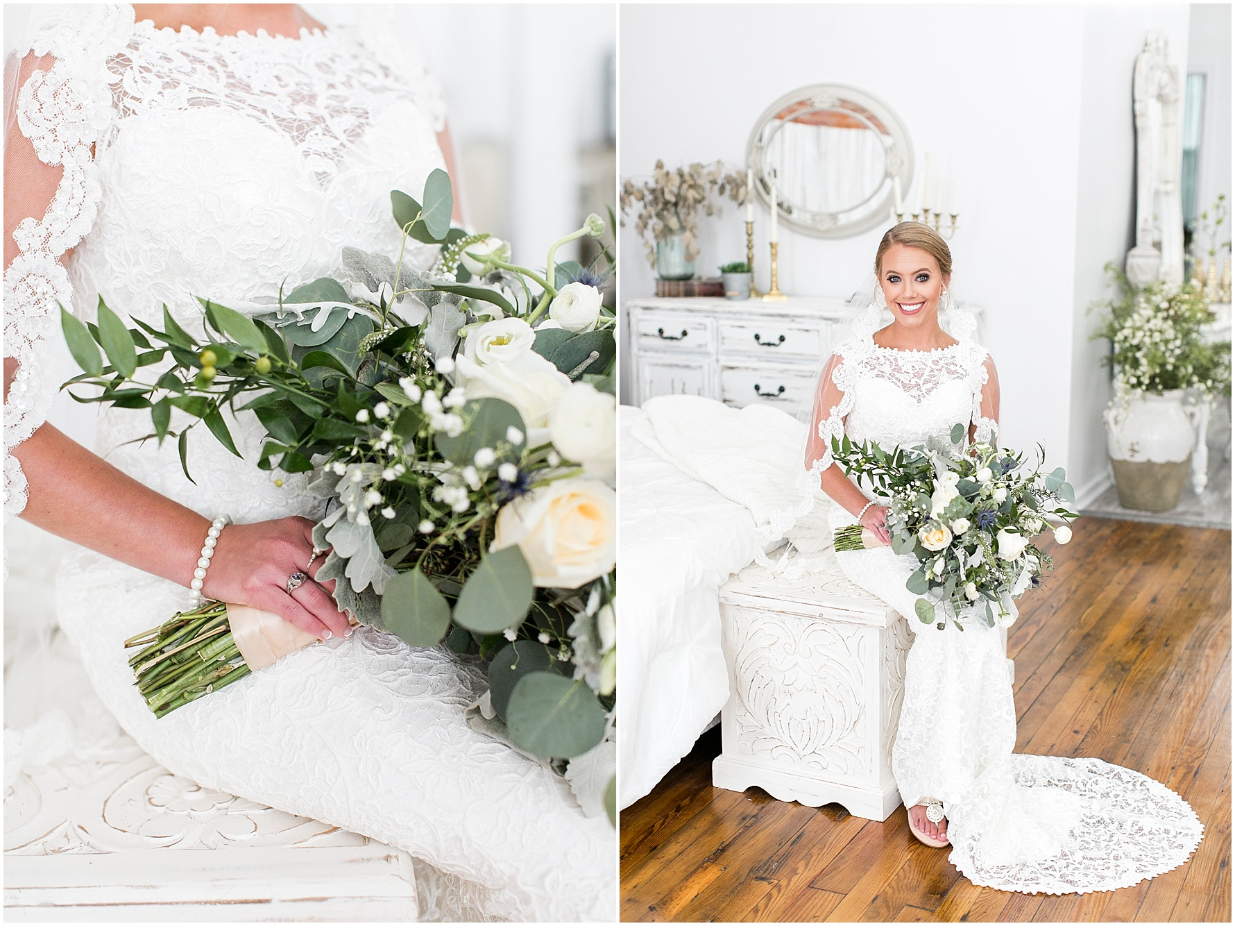 studio at wharf hill bridal portrait, Jessica Ryan photography, Mann and wife florist