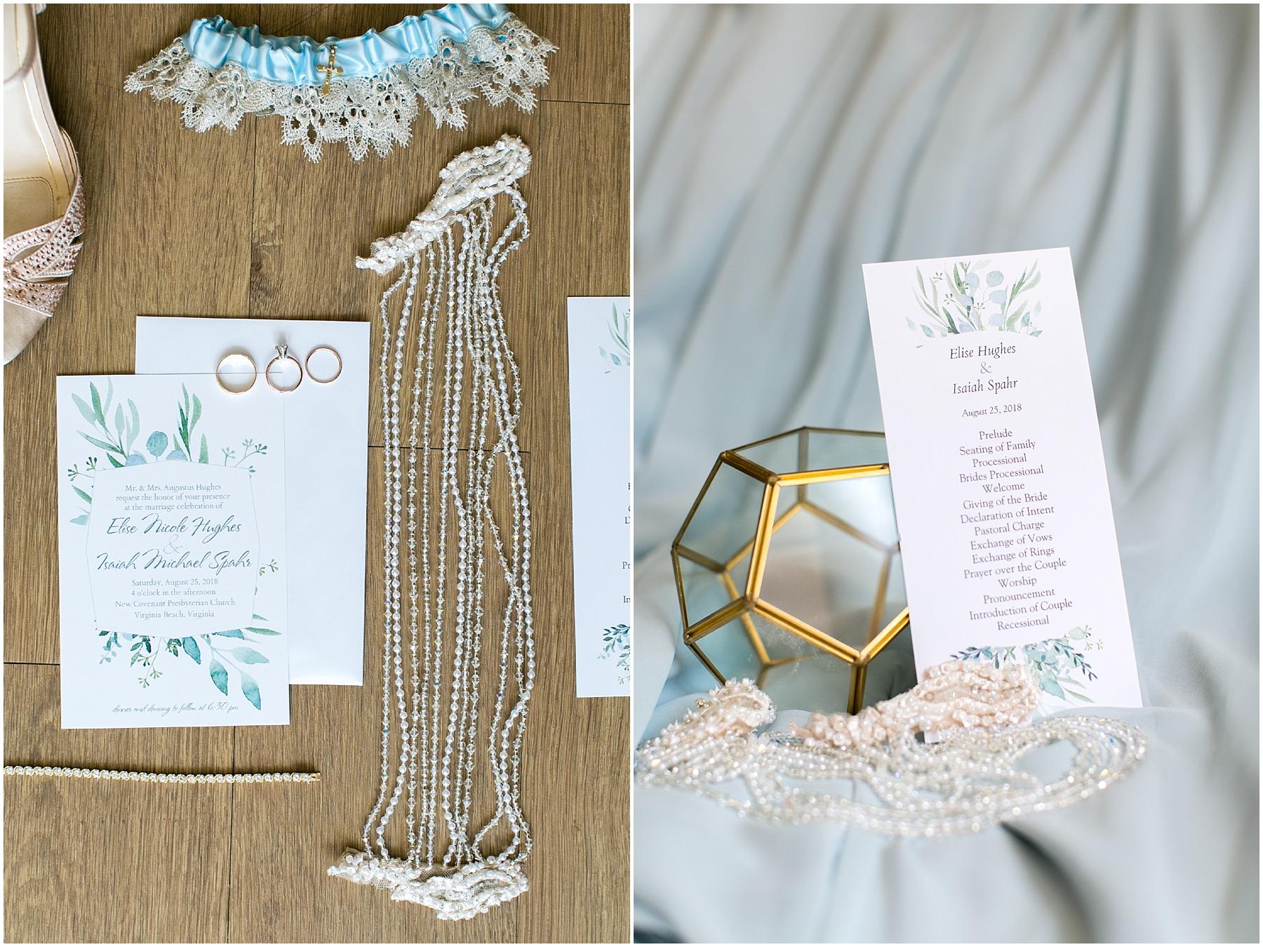 virginia beach wedding photography, wedding details