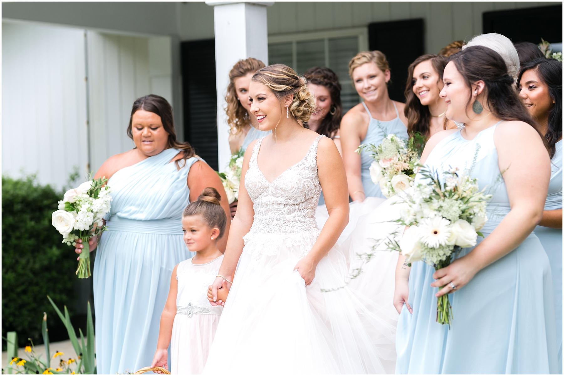 virginia beach wedding photography, bridal party, bridesmaids, here and now bridal wedding dress, jessica ryan photography, jessica ryan photographer