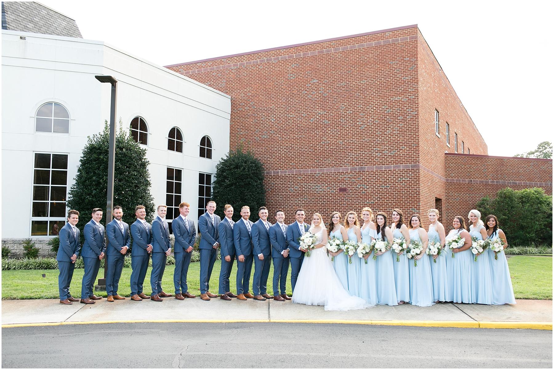 virginia beach wedding photography,here and now bridal wedding dress, jessica ryan photography, jessica ryan photographer, redeemer church, bridal party portraits