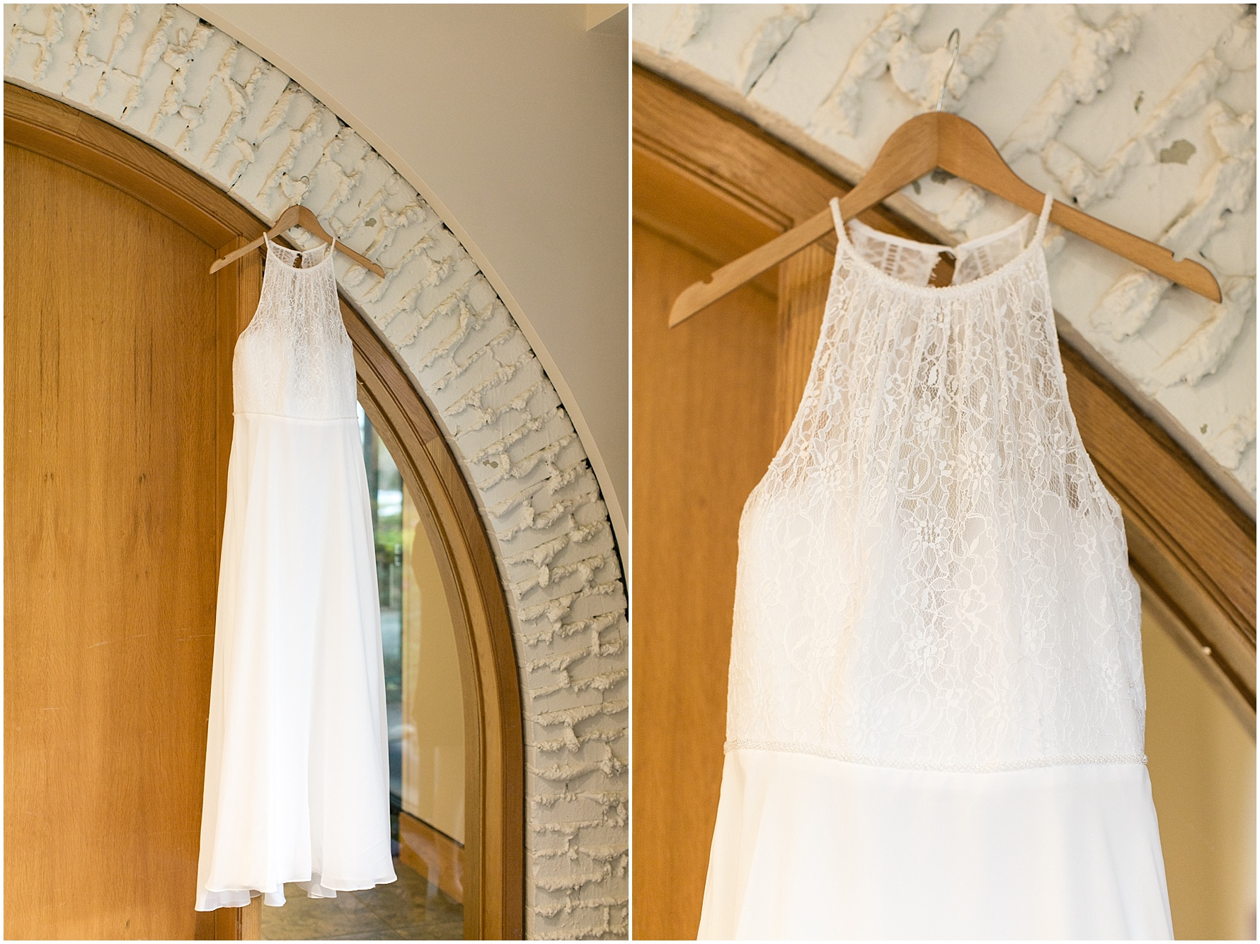 Mariner's Museum Wedding, wedding dress