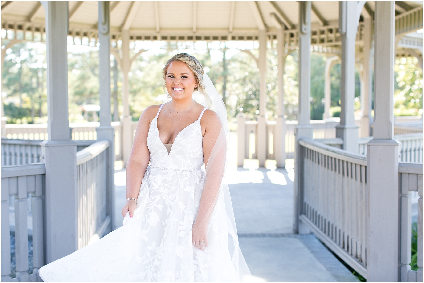 bridal portrait, norfolk botanical gardens wedding day, candid wedding photography, jessica ryan photography