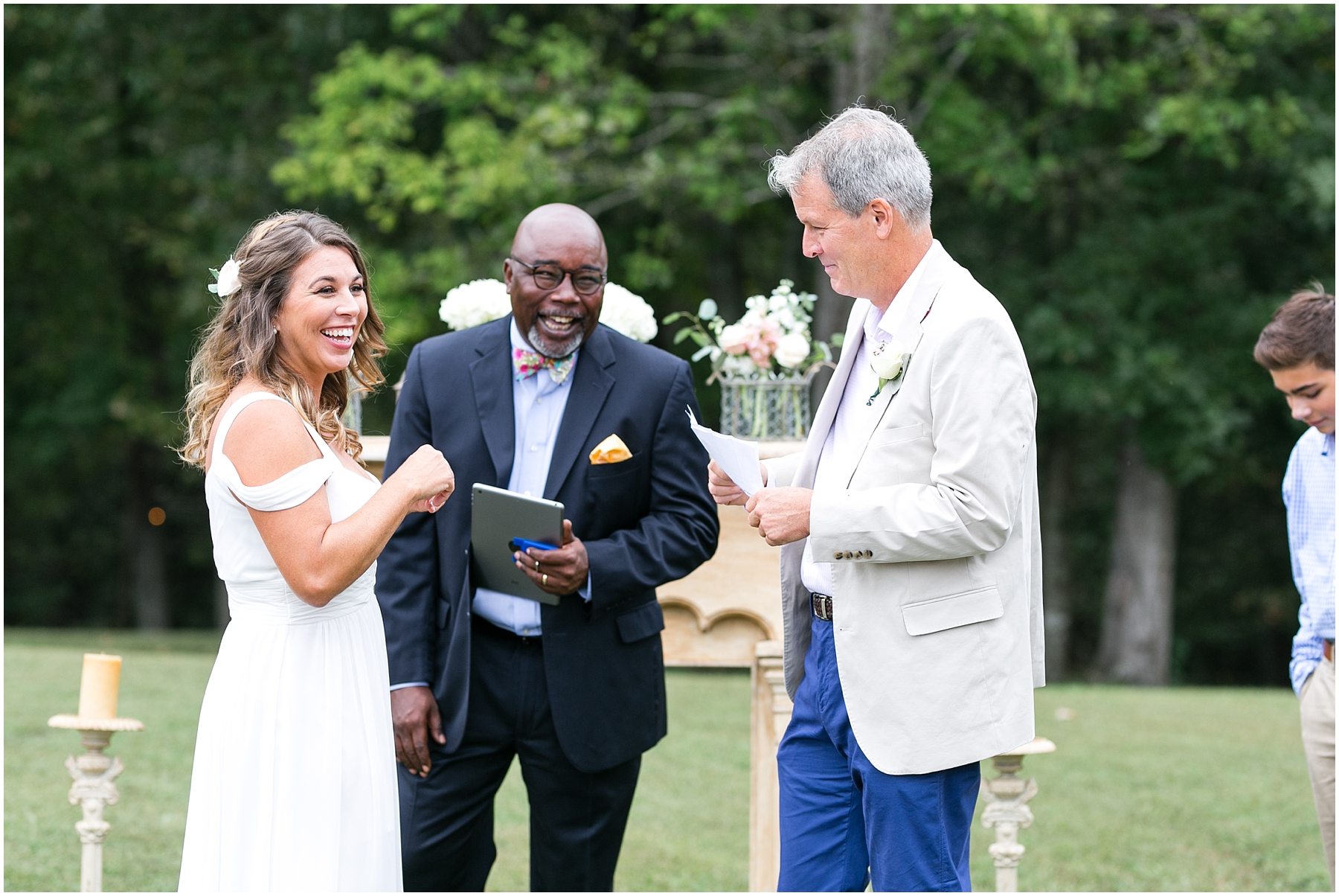 richmond intimate wedding ceremony