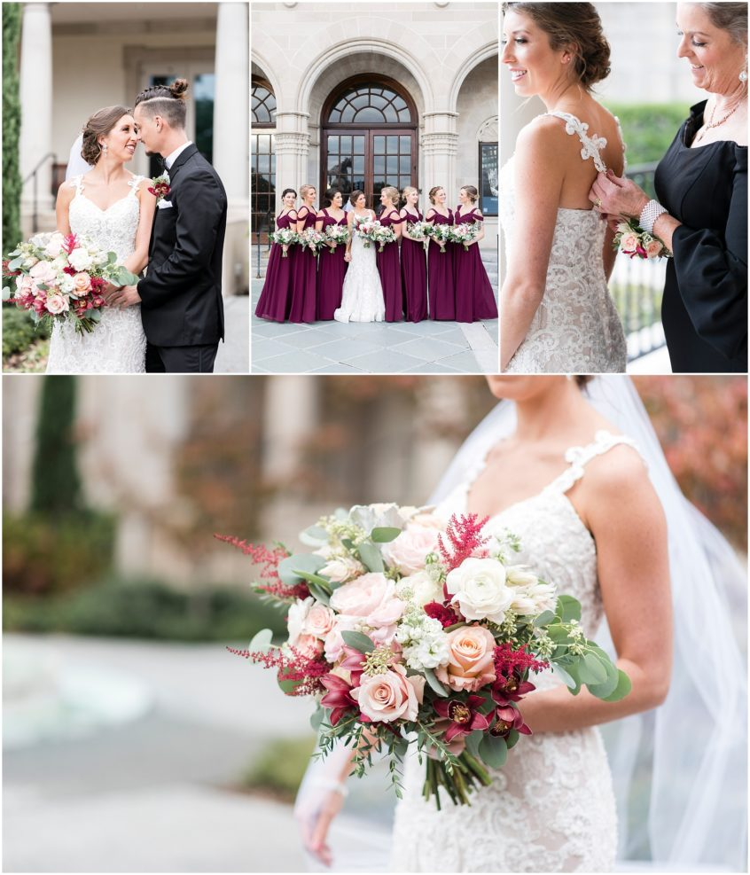 fall wedding at the Chrysler museum of art in norfolk virginia