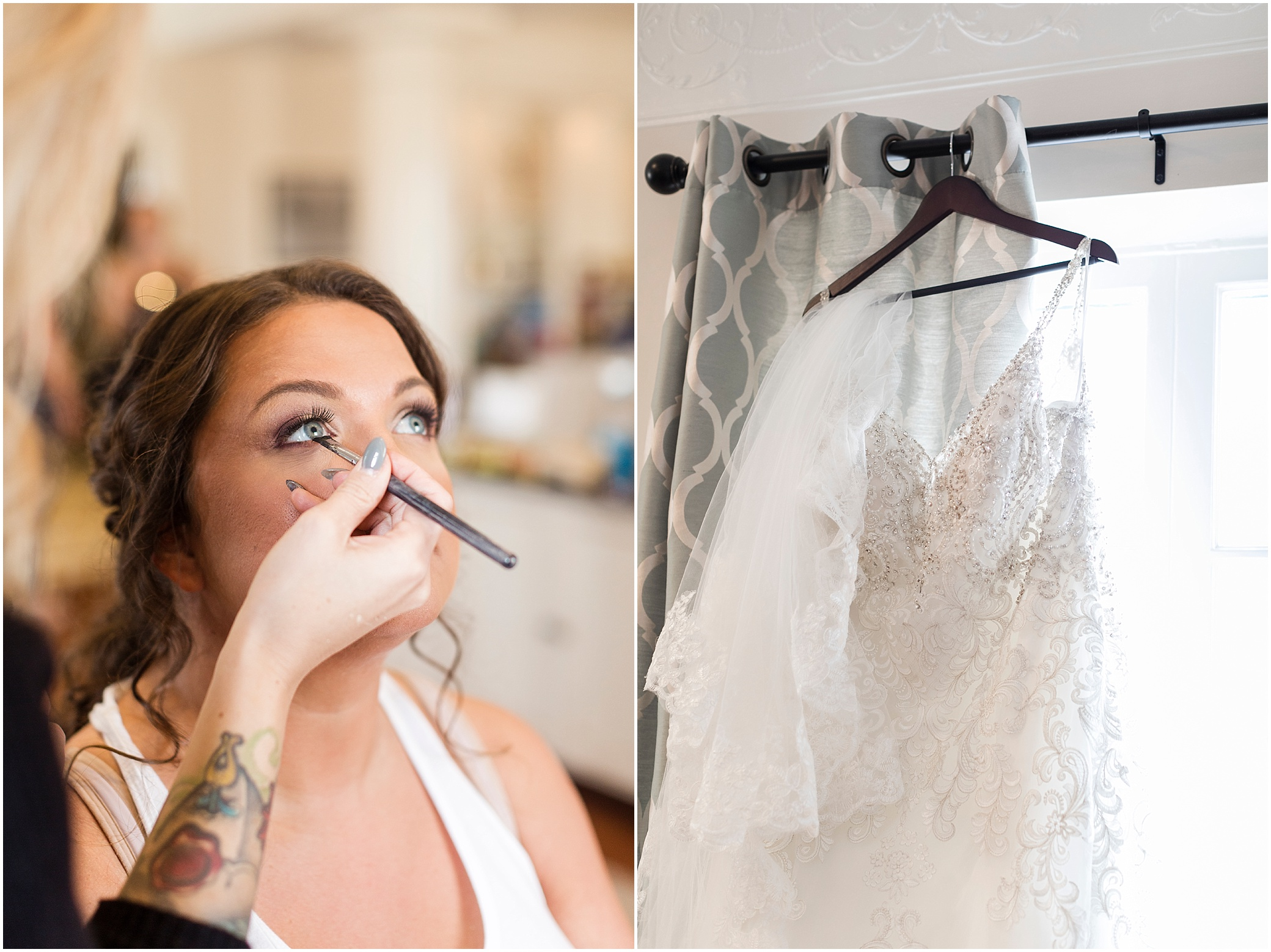 crystal clear event wedding giveaway, historic post office wedding, Waterford event rentals, bridal suite, getting ready