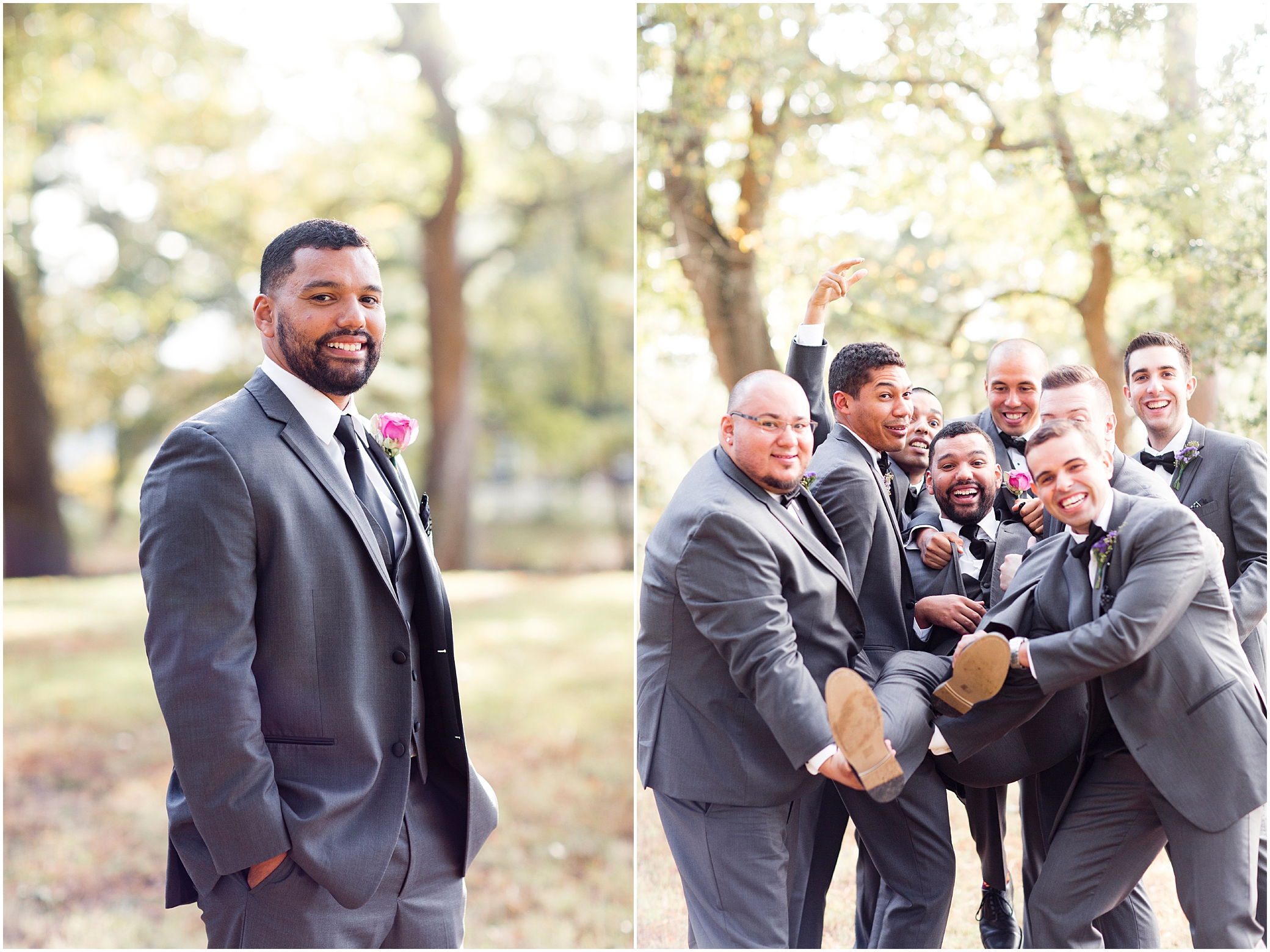 the woman's club of Portsmouth wedding in the fall
