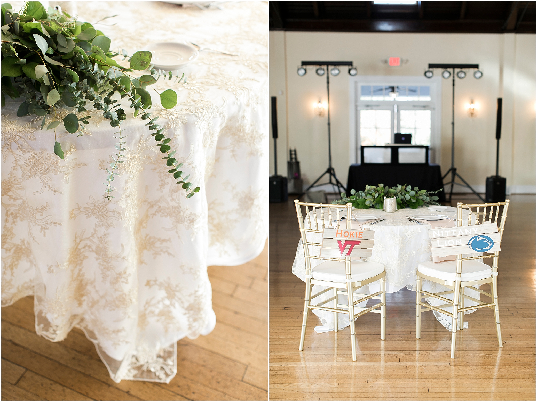 the woman's club of Portsmouth wedding in the fall, Carolyn celeste weddings, wedding reception, Kathy forrest design