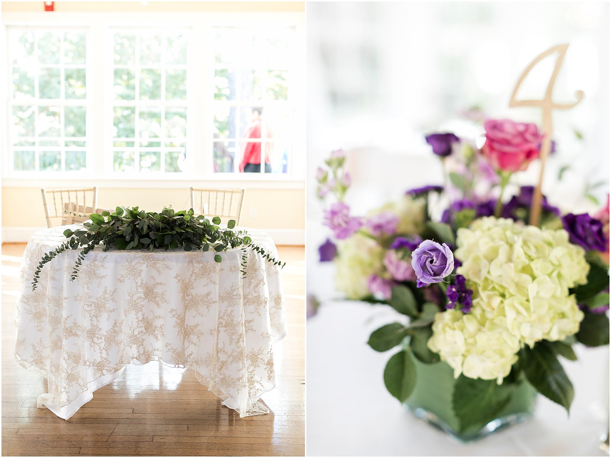 the woman's club of Portsmouth wedding in the fall, Carolyn celeste weddings, wedding reception, Kathy forrest design