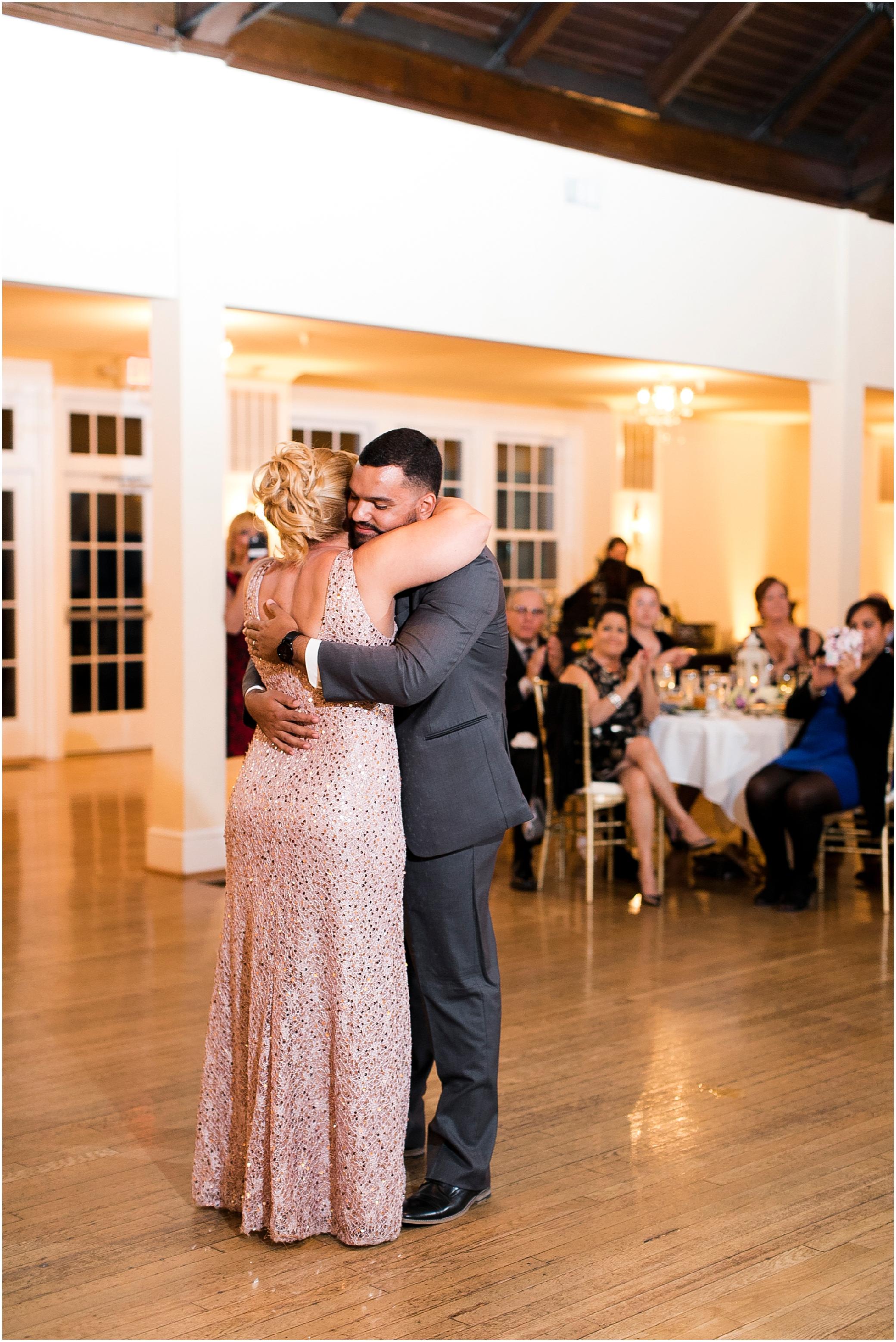 the woman's club of Portsmouth wedding in the fall, Carolyn celeste weddings, wedding reception