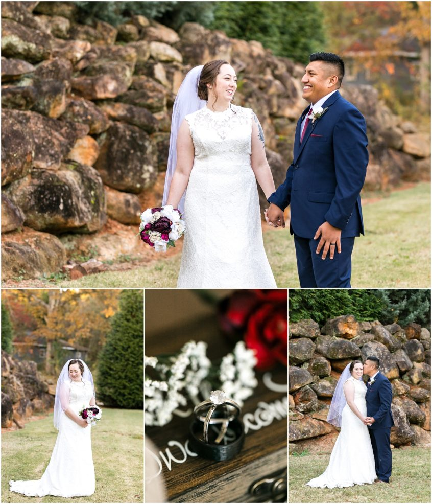 Larkin's Sawmill wedding in Greenville, South Carolina