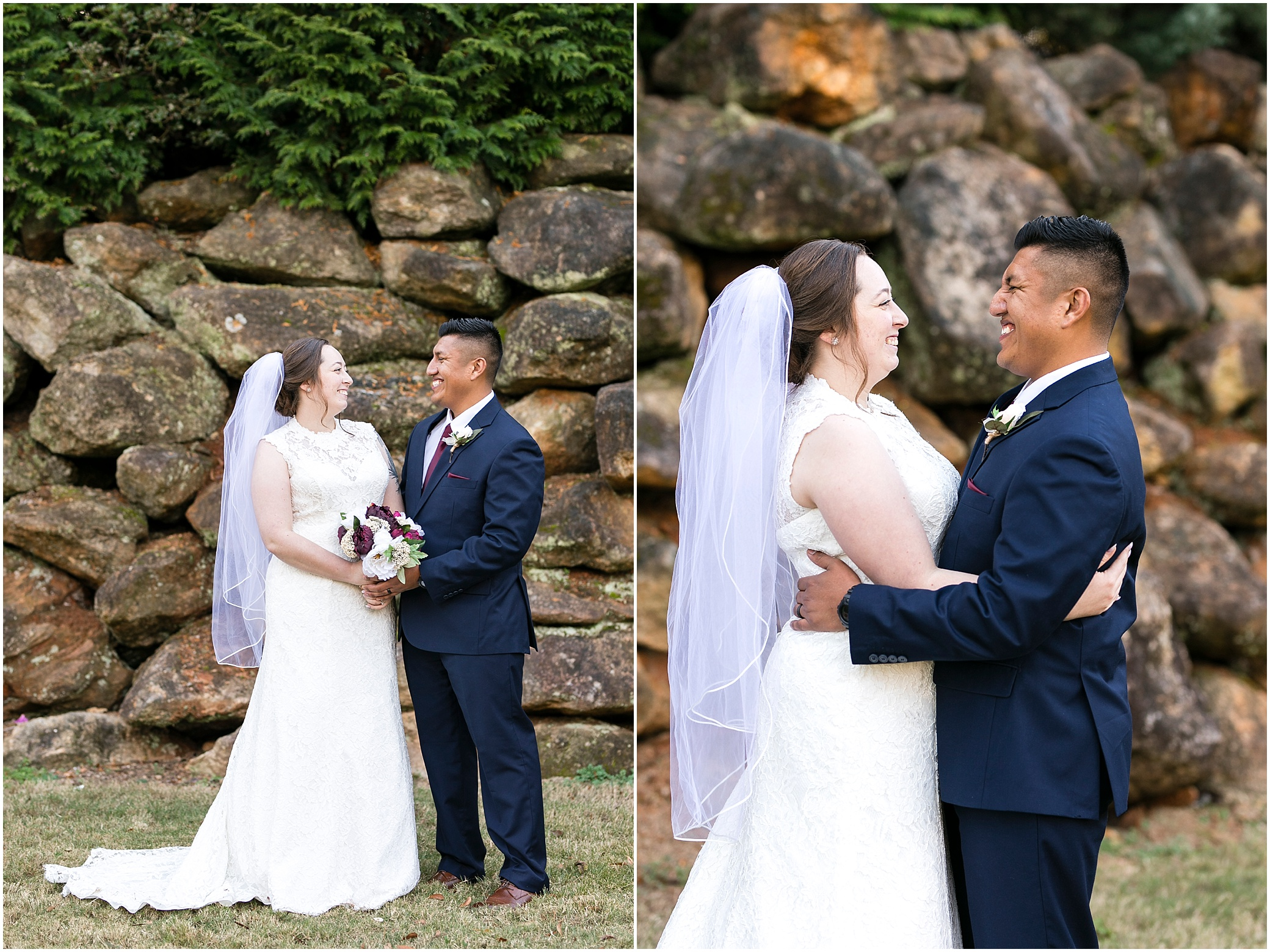Fall wedding at the Larkin's Sawmill in Greenville, South Carolina, destination wedding photographer
