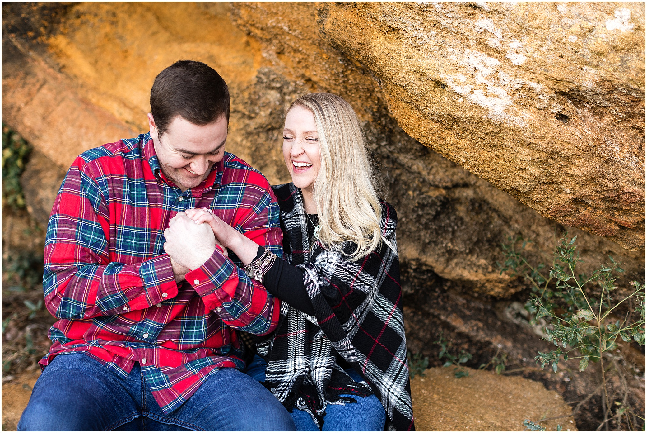 historic Yorktown engagement photography
