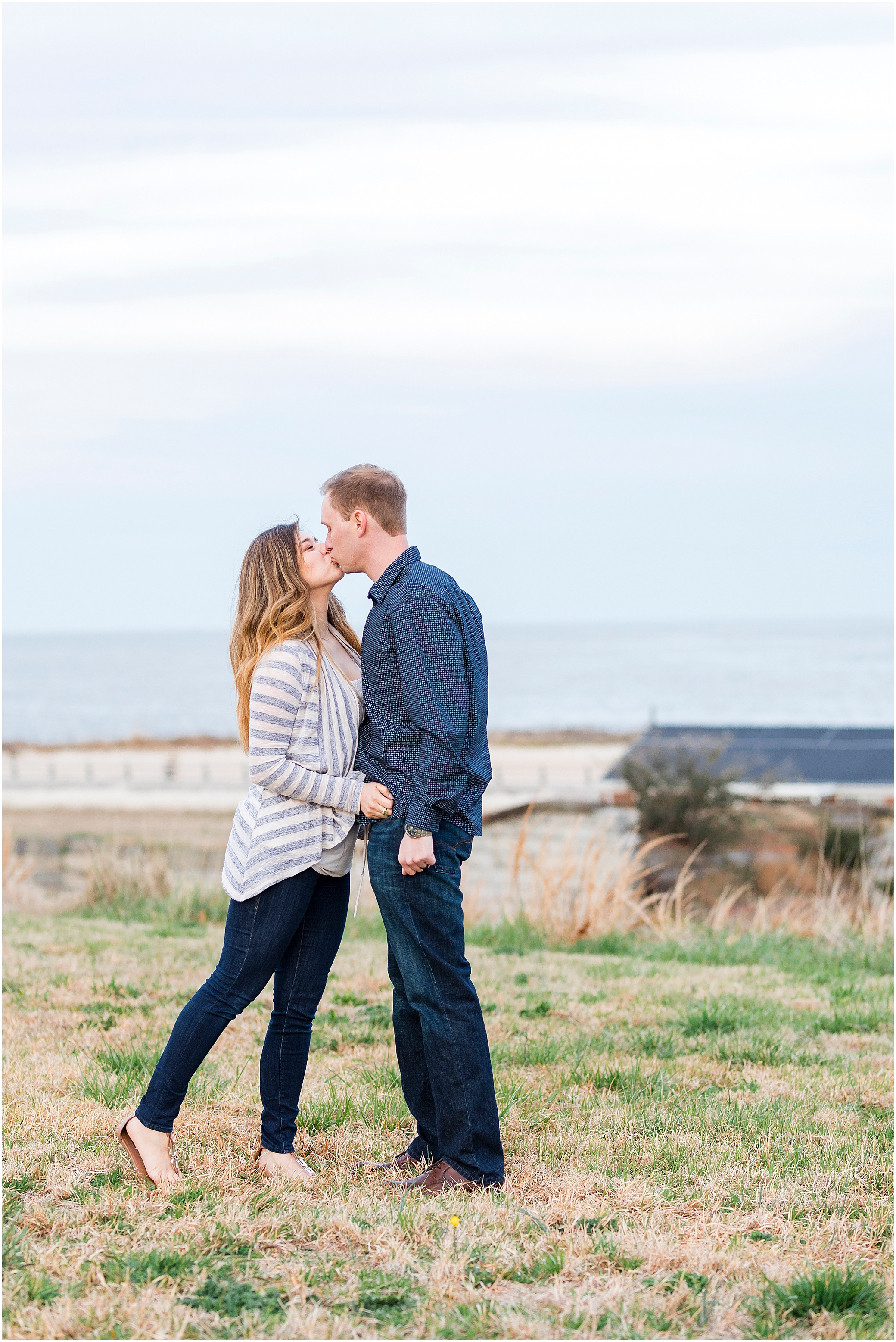 Fort Monroe Anniversary photography, couple dancing