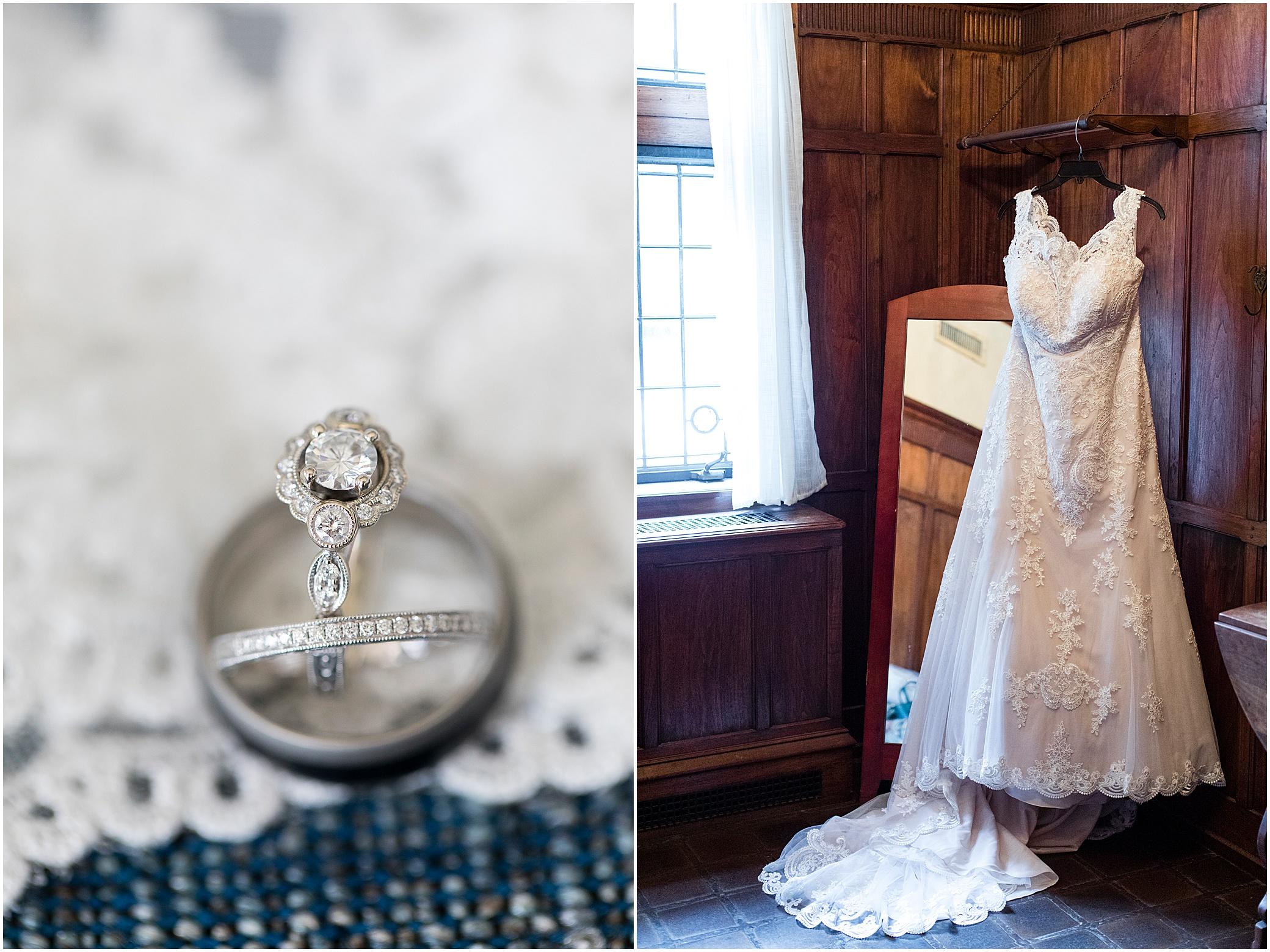 hermitage museum and gardens elopement wedding details wedding rings studio i do wedding dress
