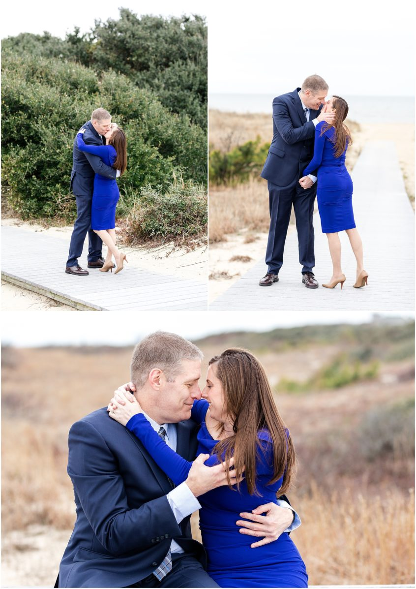 virginia beach oceanfront engagement photography