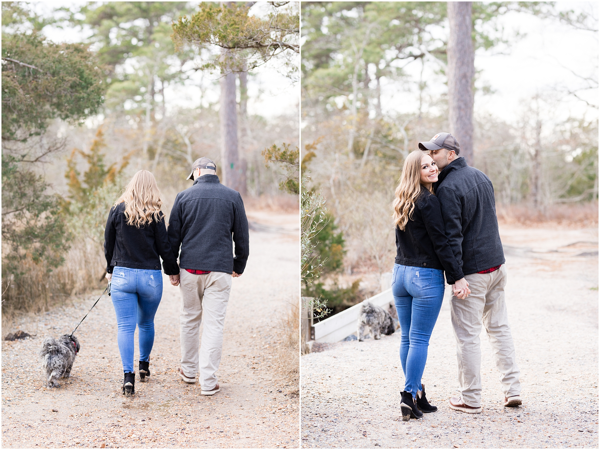 Virginia state park engagement, first landing state park engagement photography,