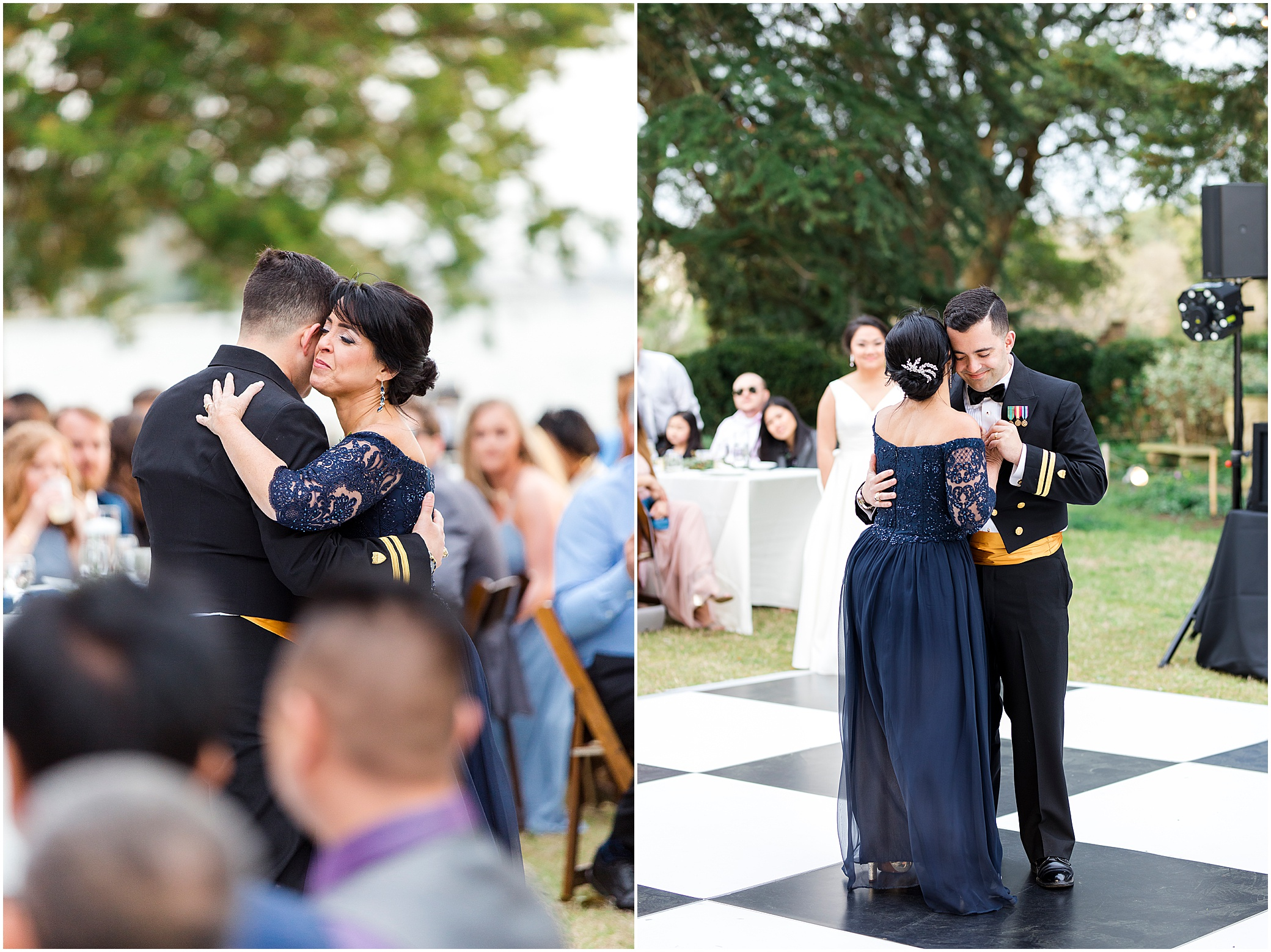 mother and son dance, spring wedding at the hermitage museum and gardens, Jessica Ryan photography, sunkissed events, outdoor wedding reception,