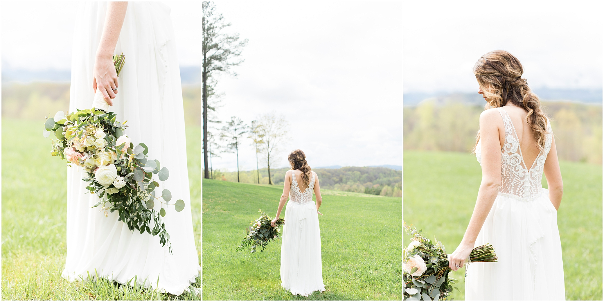 bridal portrait at sierra vista wedding