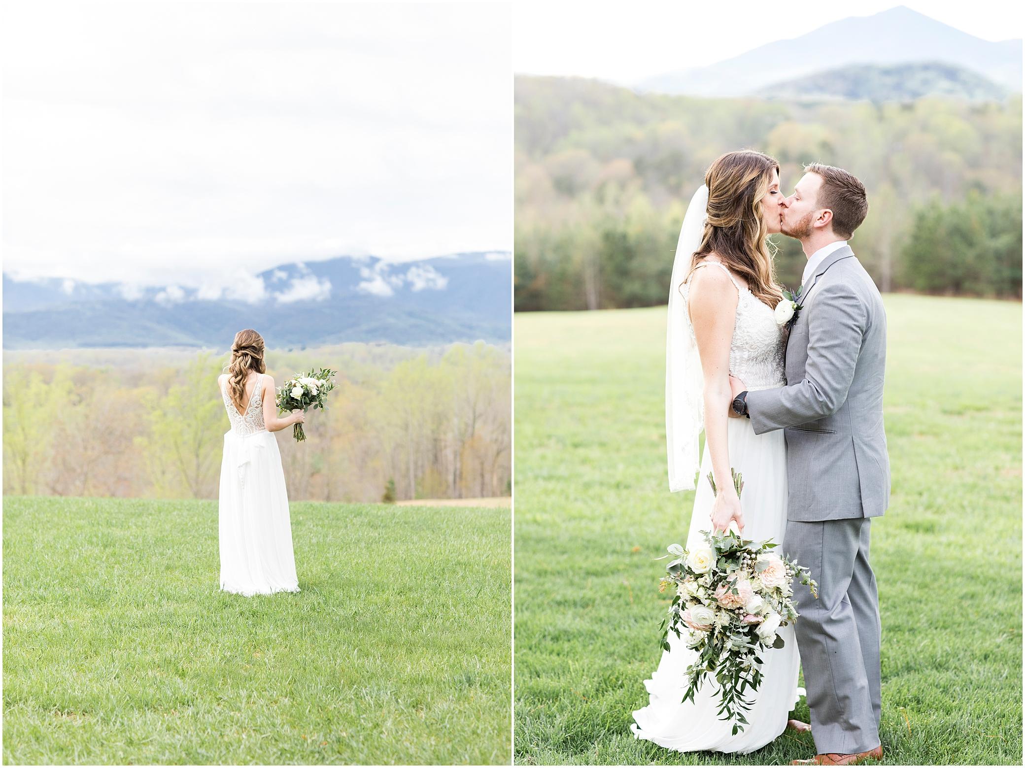 bride and groom portrait at sierra vista wedding, jessica ryan photography