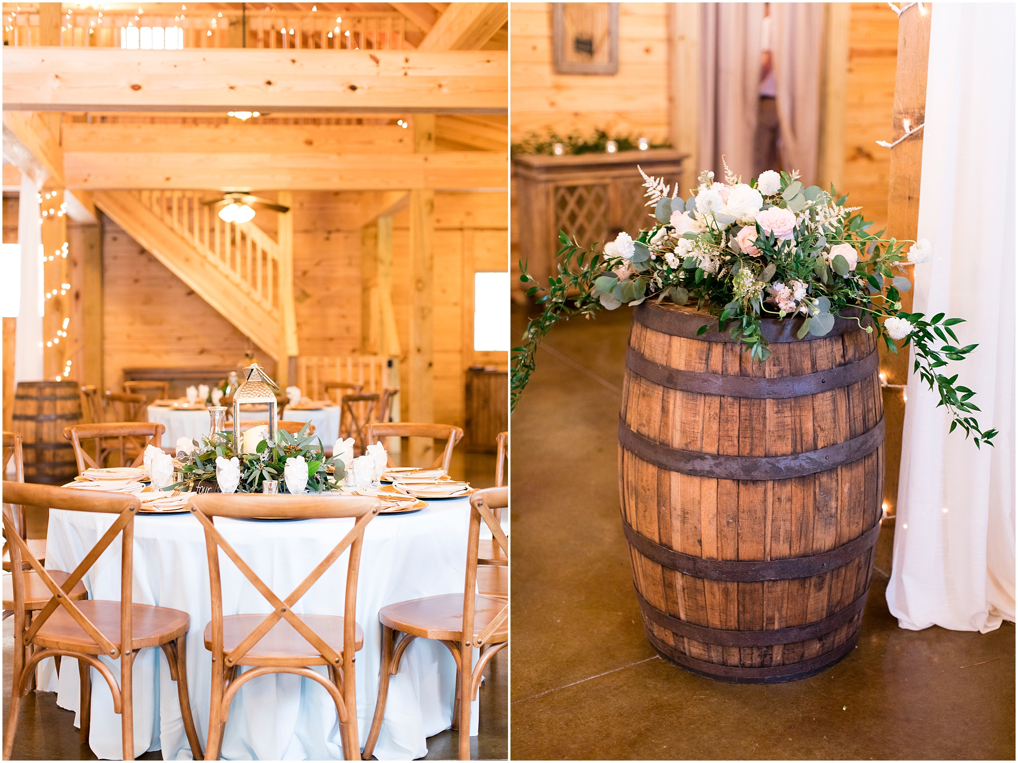 wedding reception decor at sierra vista wedding, bloom by doyle's, a little party events