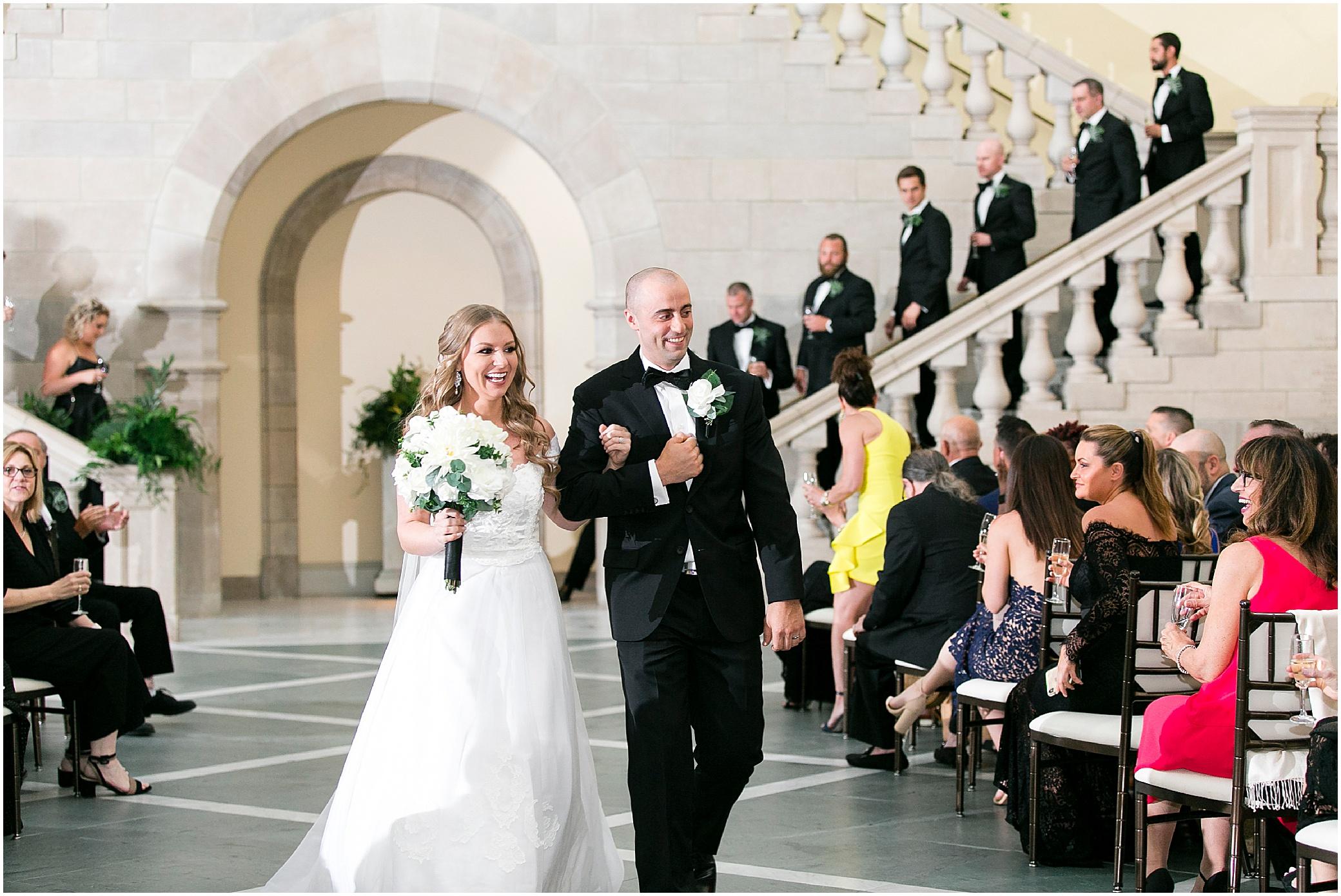 Chrysler museum wedding in Norfolk Virginia