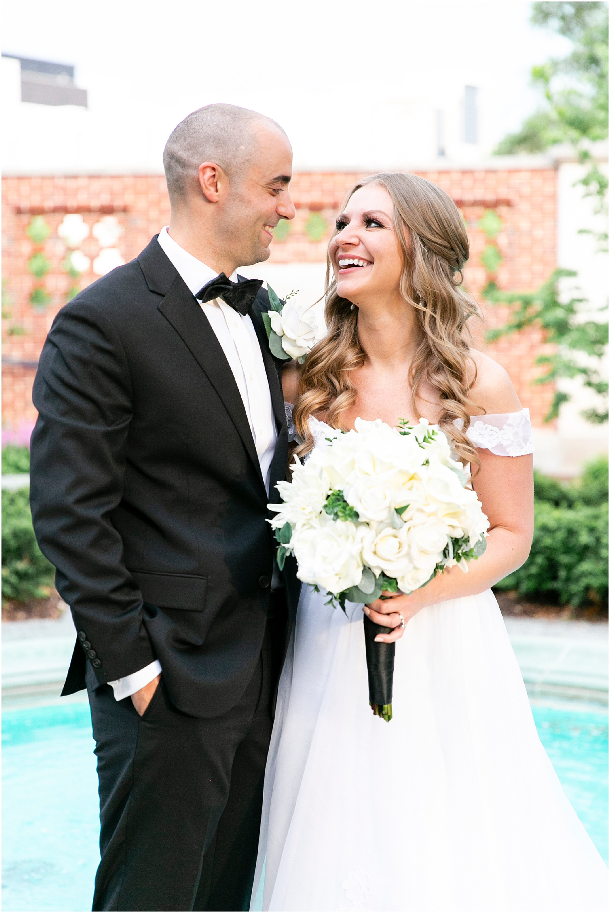 Chrysler museum wedding in Norfolk Virginia