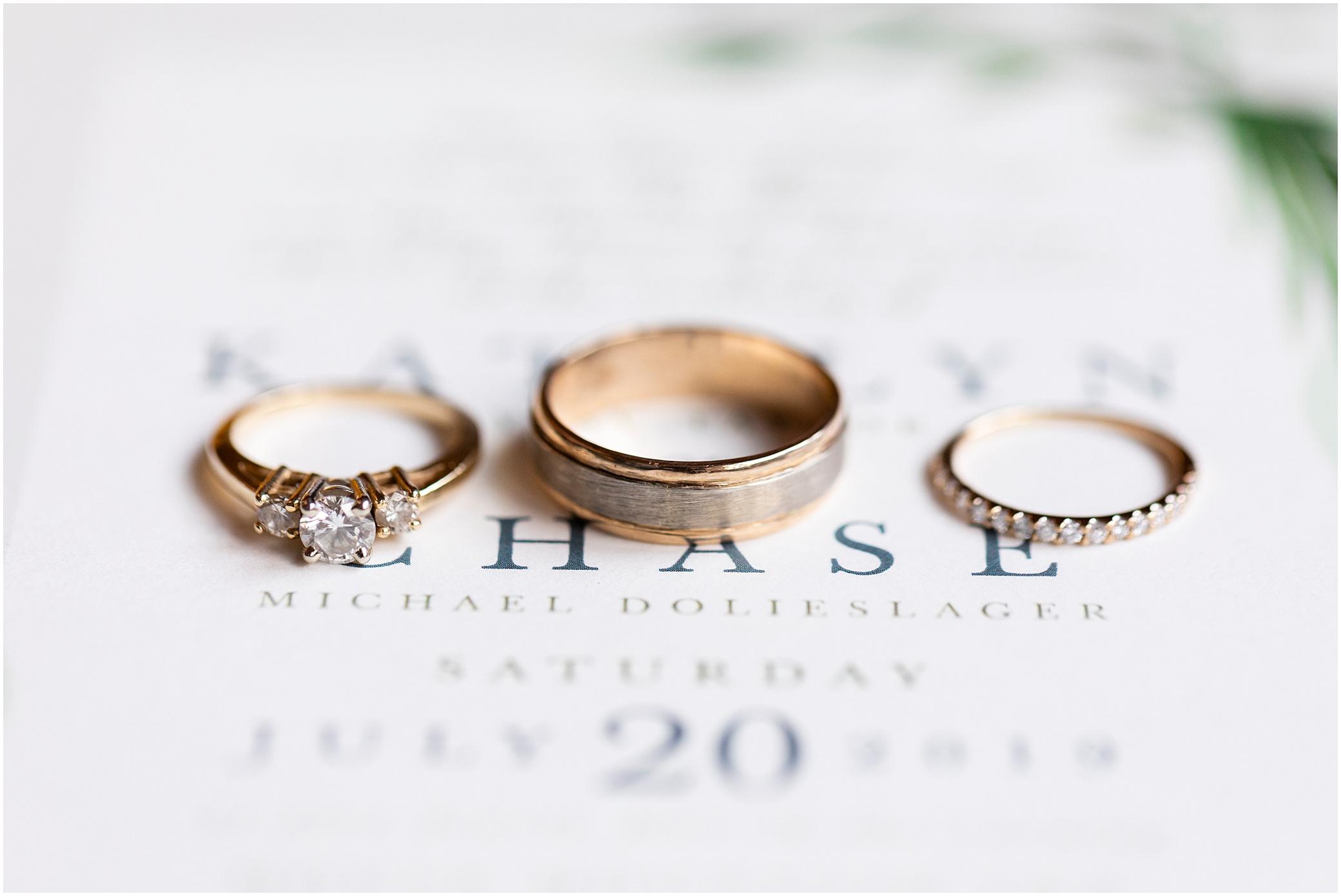 House Mountain Inn Wedding, Virginia wedding in the mountains, wedding rings